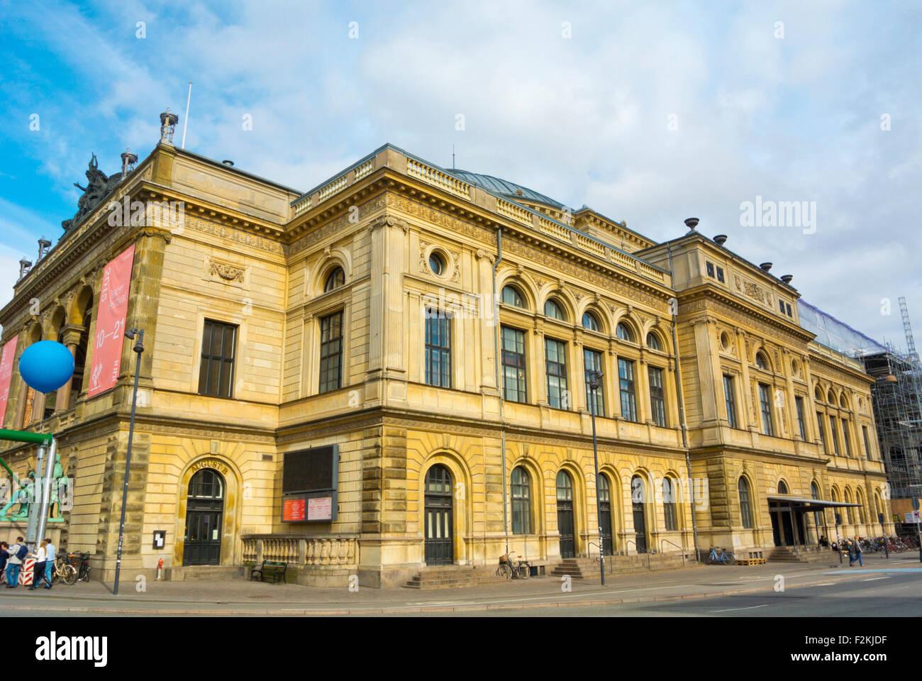 Det Kongelige Teater, Royal Danish Theatre, Kongens Nytorv, Copenhagen, Denmark - Stock Image