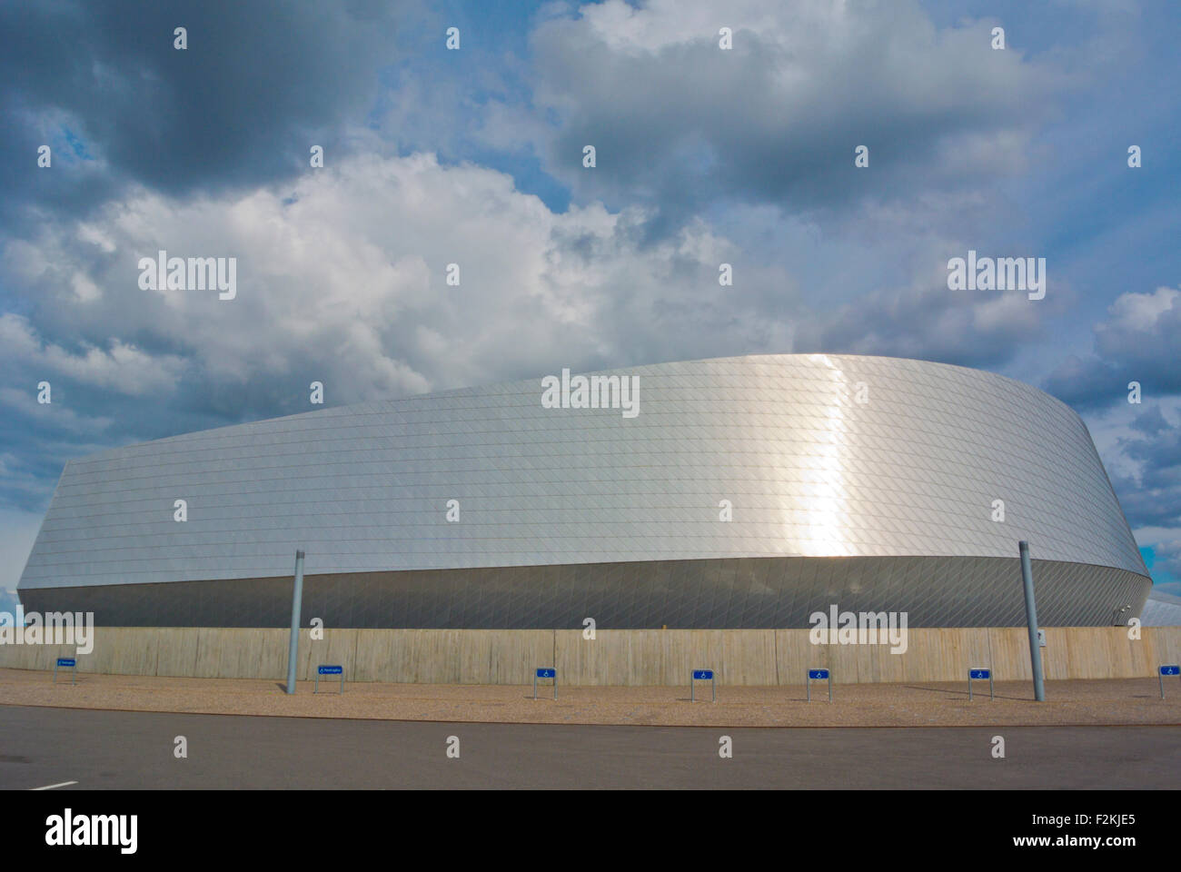 Den Blå Planet , sea world, aquarium, Orestad, Amager, Copenhagen, Denmark - Stock Image