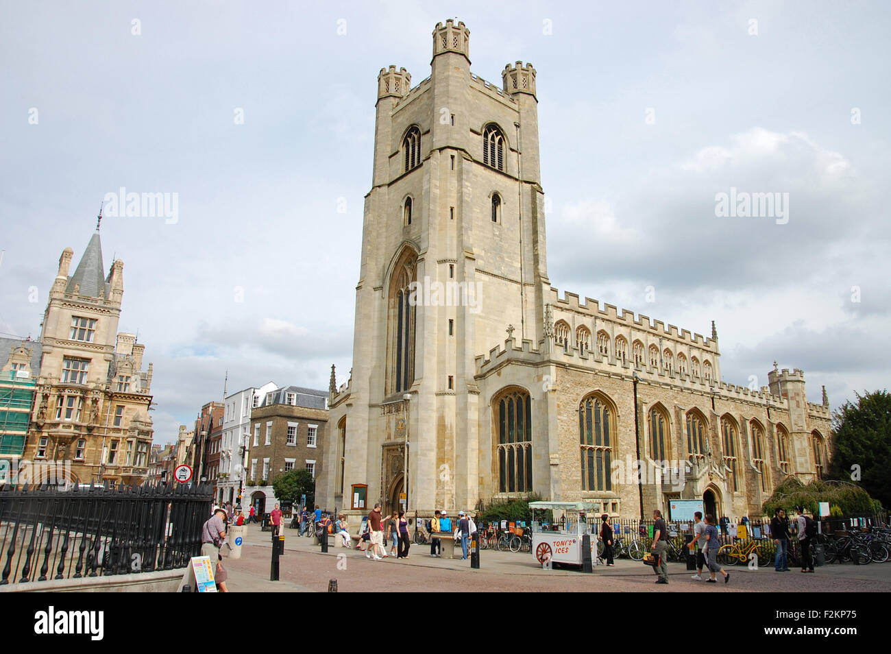 Great St. Mary's Church in Cambridge, England. - Stock Image