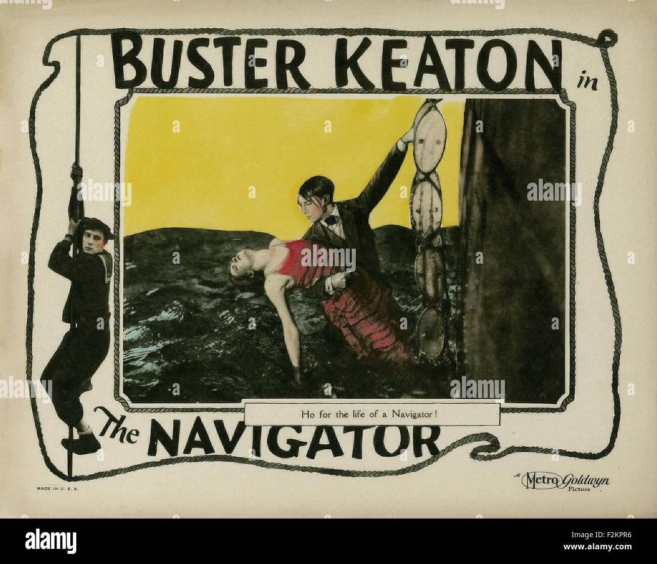 Navigator, The - Movie Poster - Stock Image