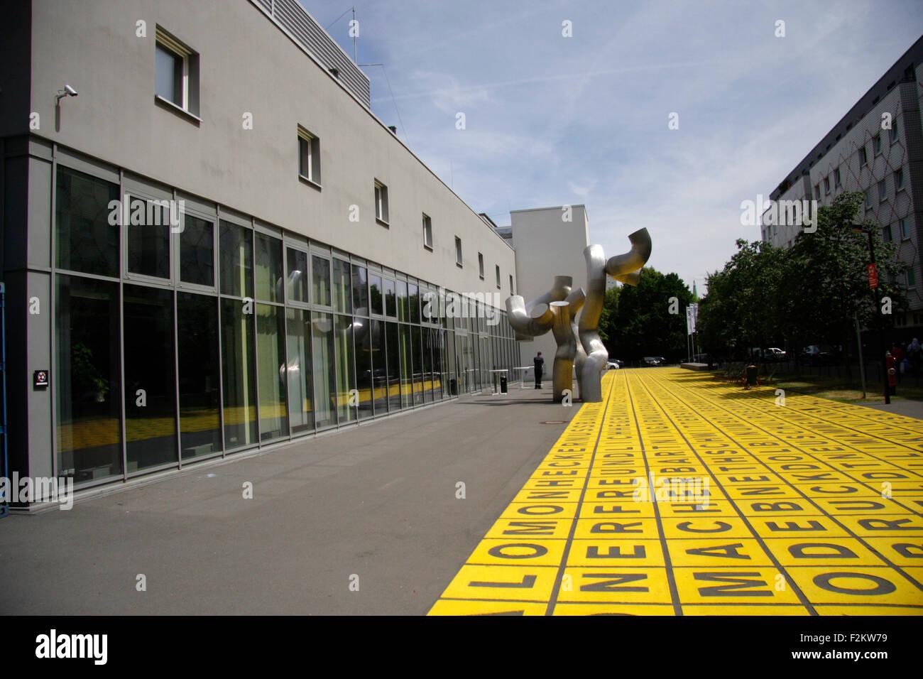 Berlinische Galerie, Berlin. Stock Photo