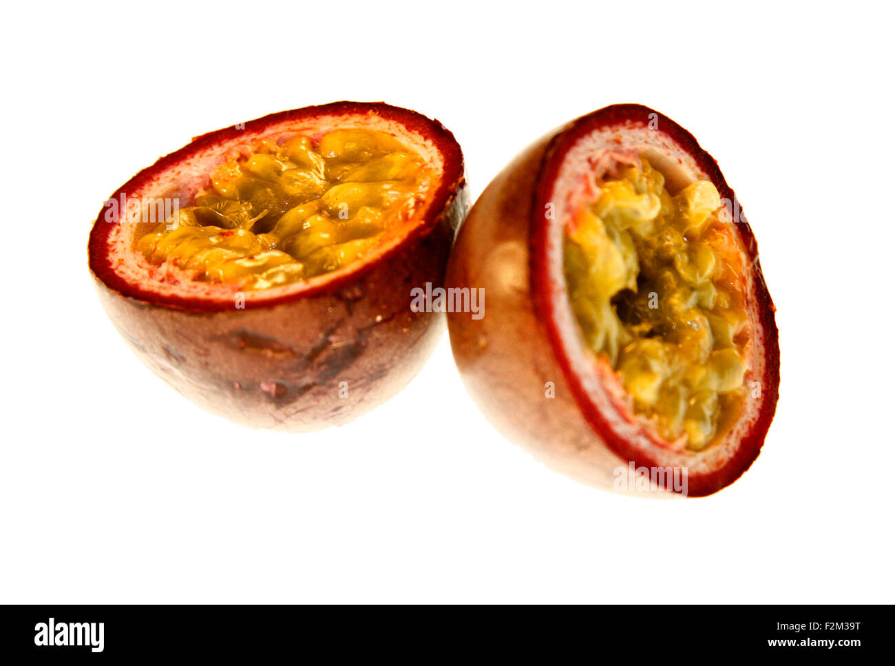 Passionsfrucht/ passion fruit - Symbolbild Nahrungsmittel . Stock Photo