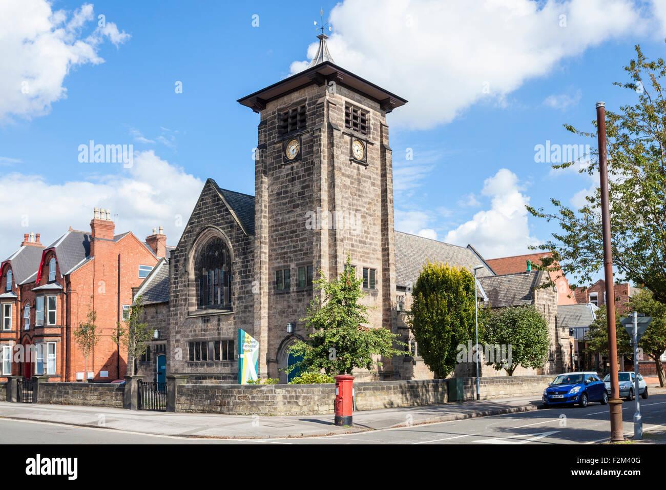 The Grade ii listed Methodist Church, West Bridgford, Nottinghamshire, England, UK - Stock Image