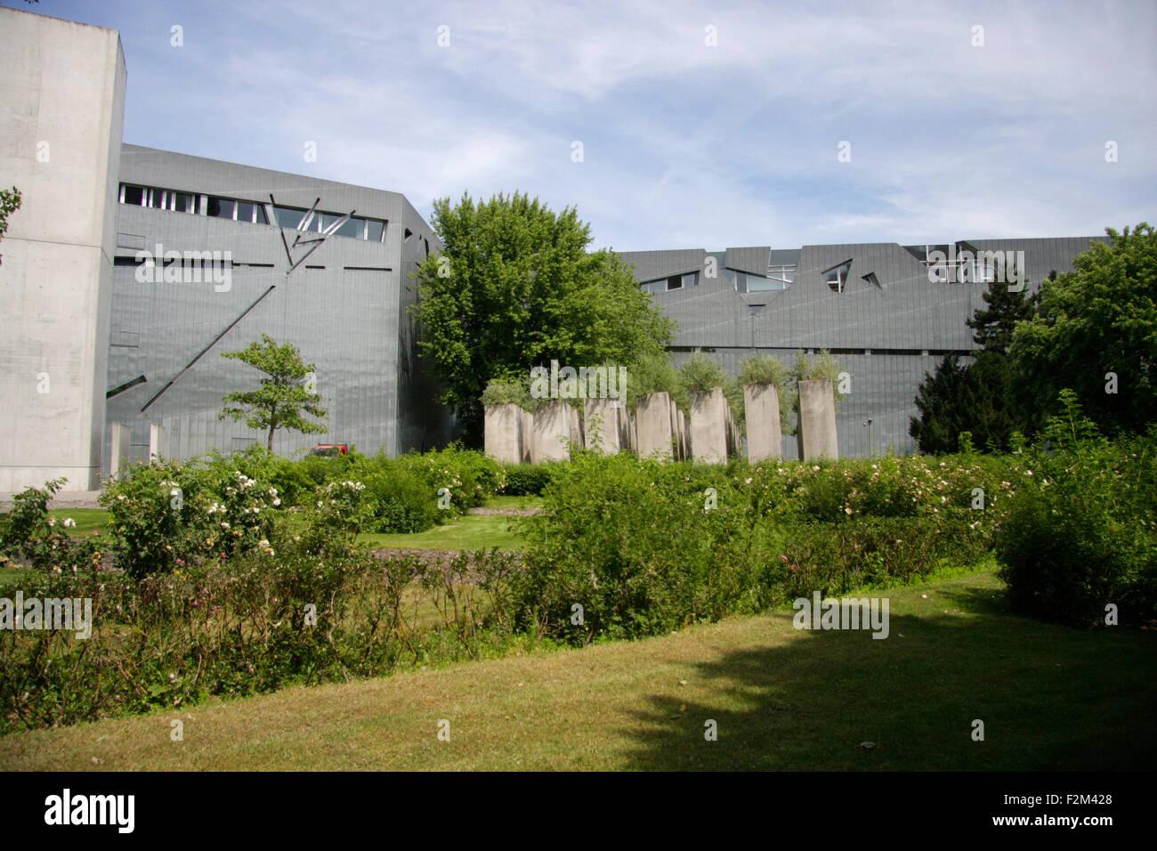 juedisches Museum, Berlin-Kreuzberg. - Stock Image