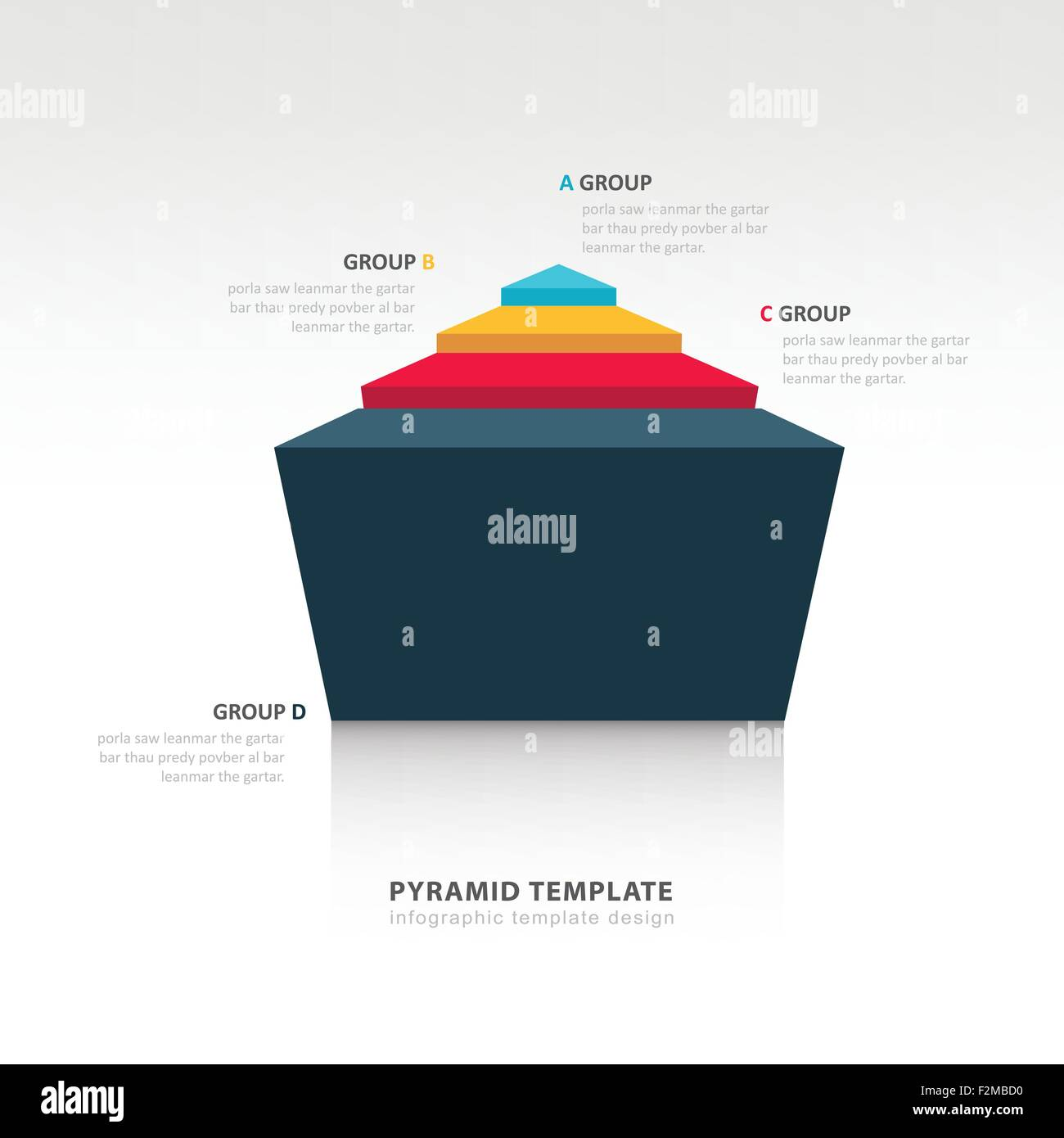 pyramid infographic template stock photos pyramid infographic
