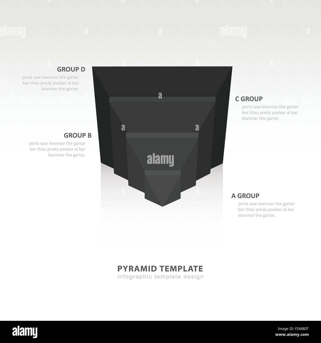 Pyramid Infographic Template Stock Photos & Pyramid Infographic ...