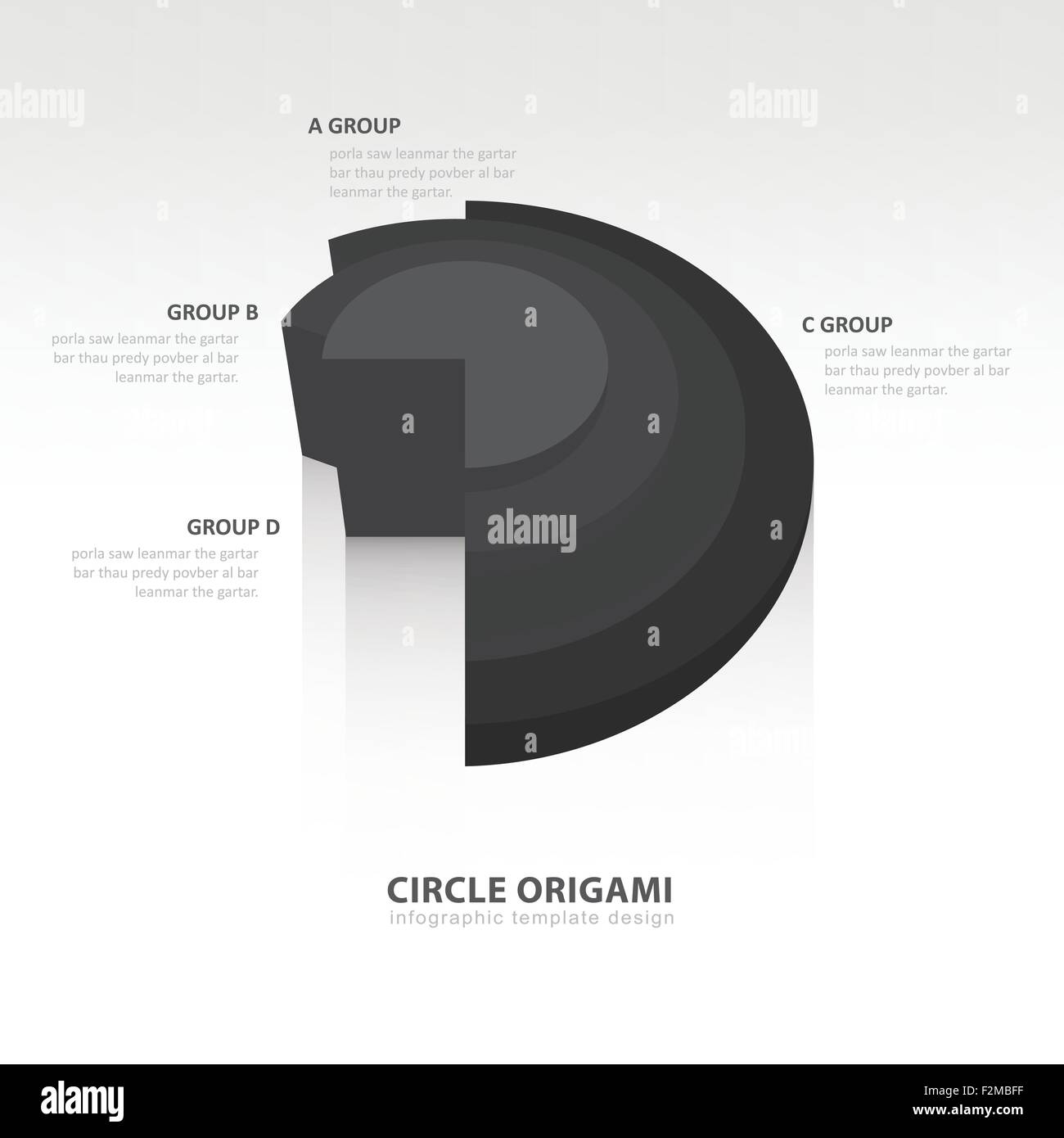 Origami Button Stock Photos Images Alamy Mouse Diagram Embroidery Business Infographics Circle Style Black Color Balance Image