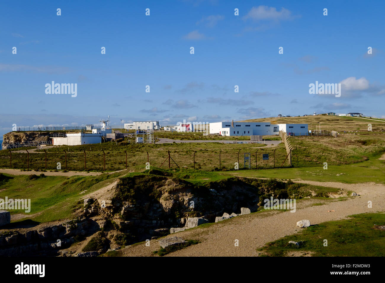 The Ministry of Defence Magnetic Range is a Ministry of Defence site used for magnetic measurement on the Isle of - Stock Image