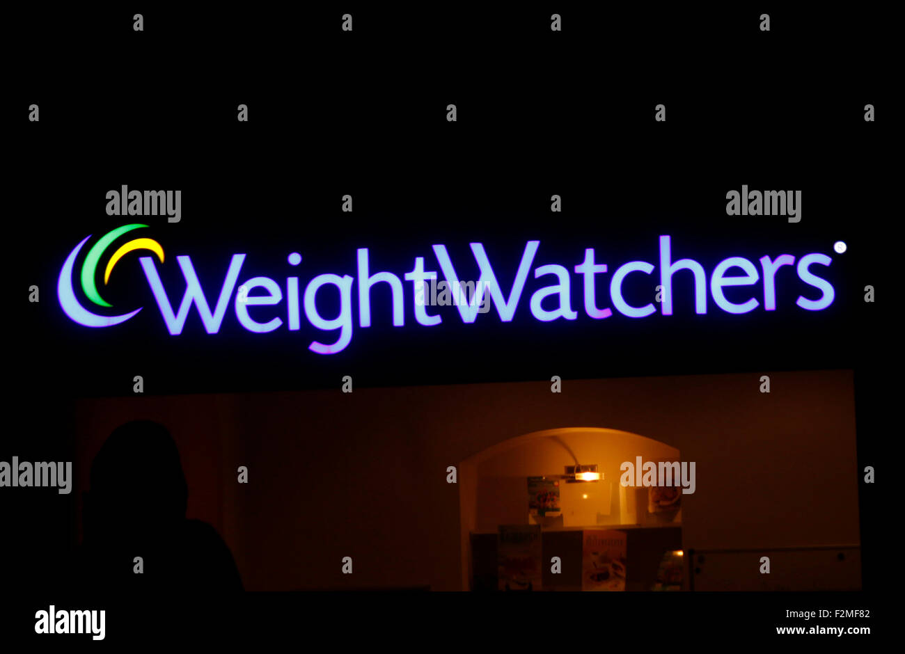Markennamen: 'Weight Watchers', Berlin. - Stock Image