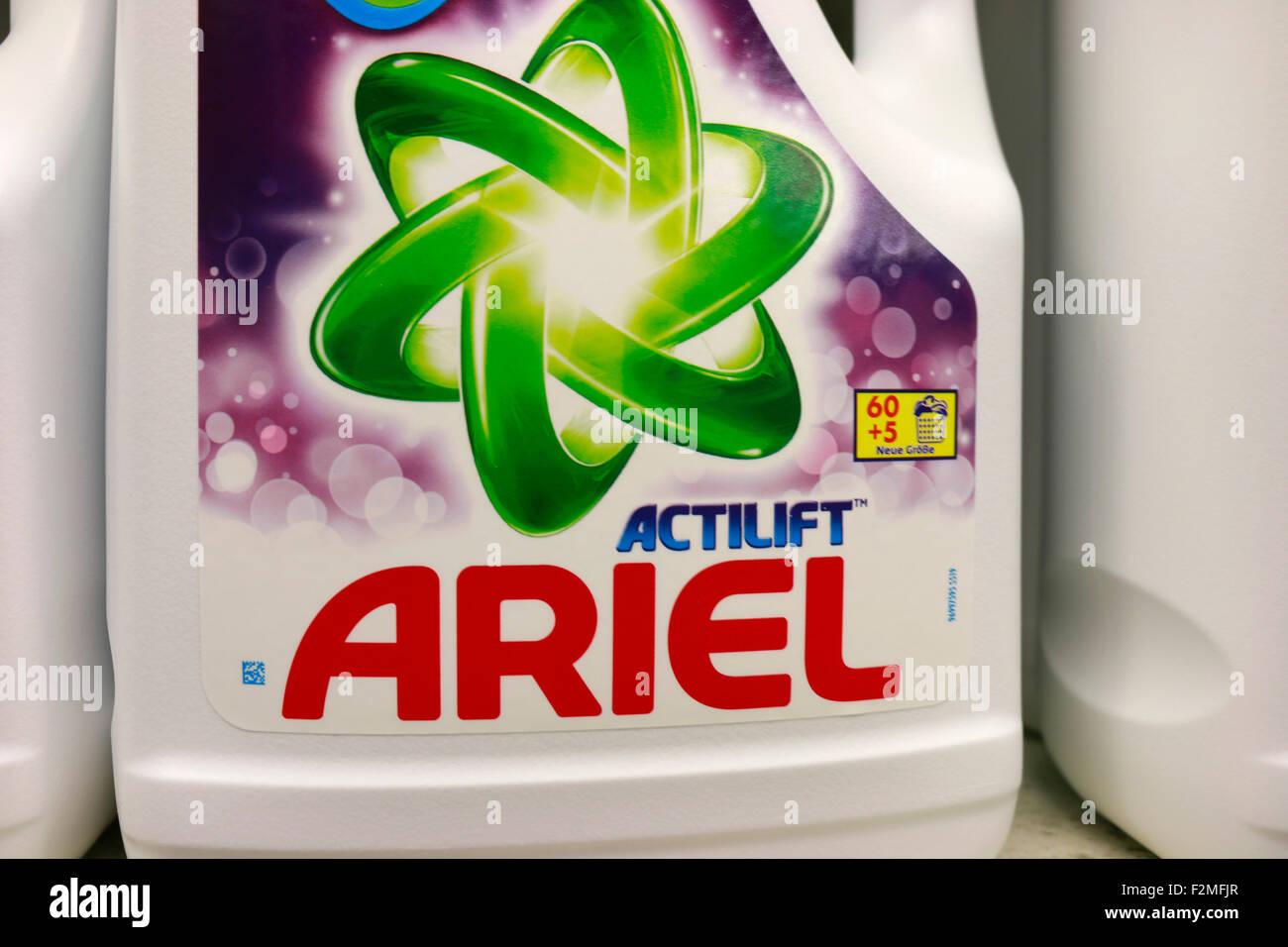 Markennamen: 'Ariel', Berlin. - Stock Image
