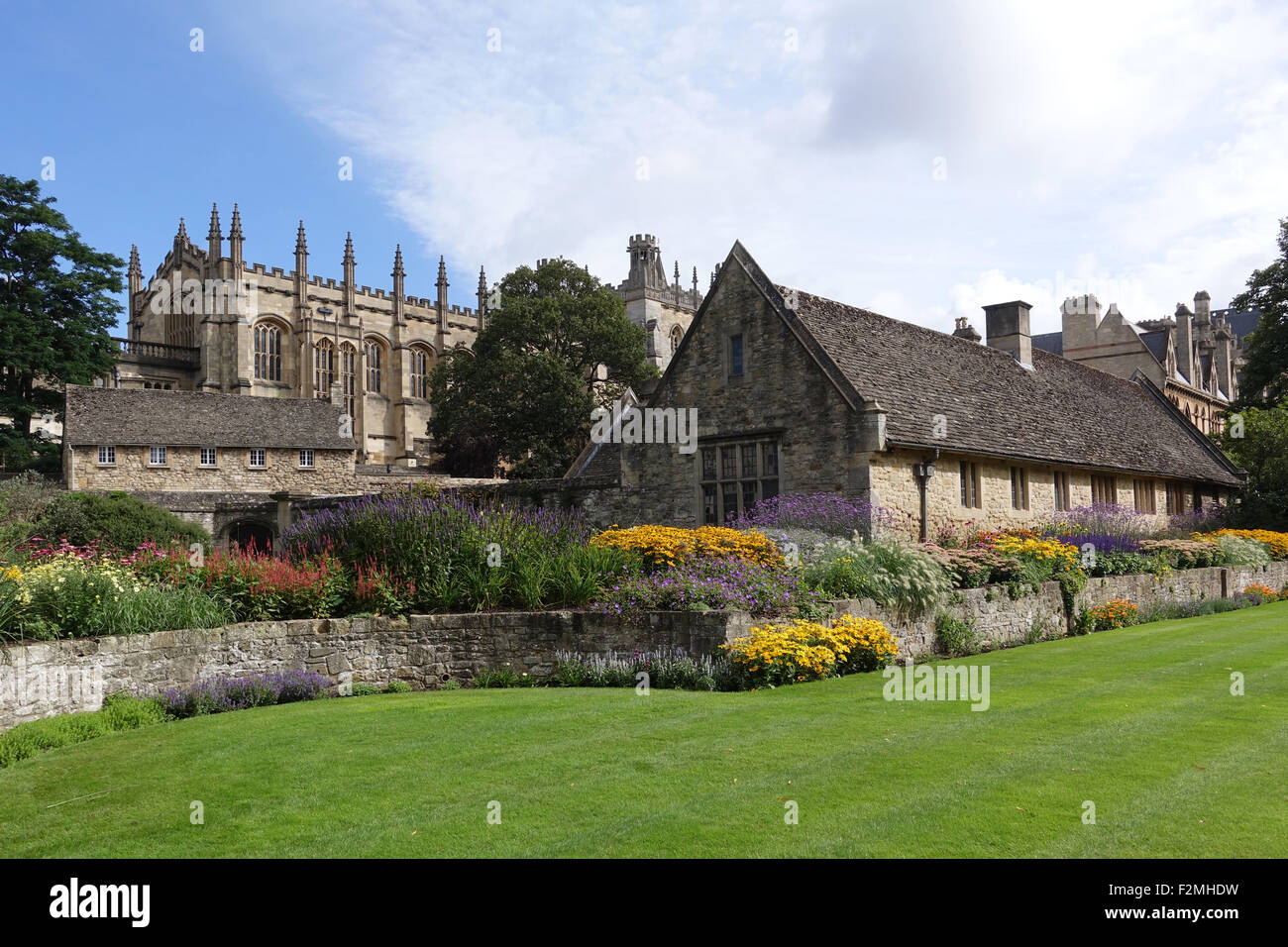 Christ Church Memorial Garden Oxford -1 - Stock Image