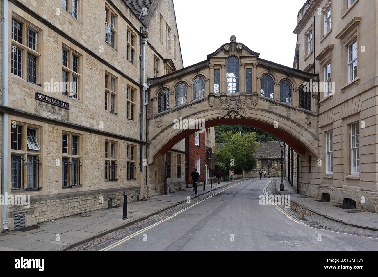 Hertford Bridge Oxford -1 - Stock Image