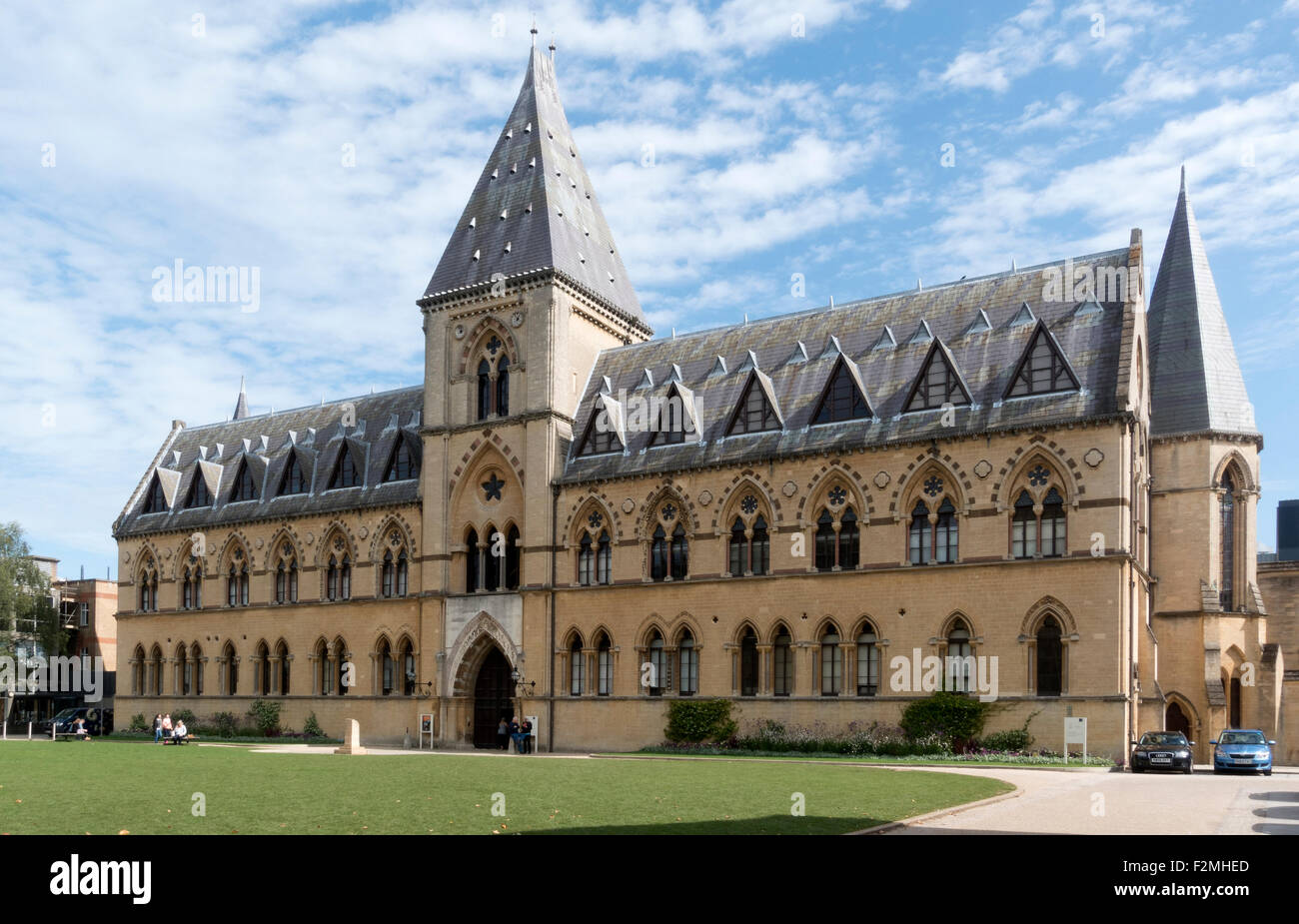The Natural History Museum, Oxford -1 - Stock Image