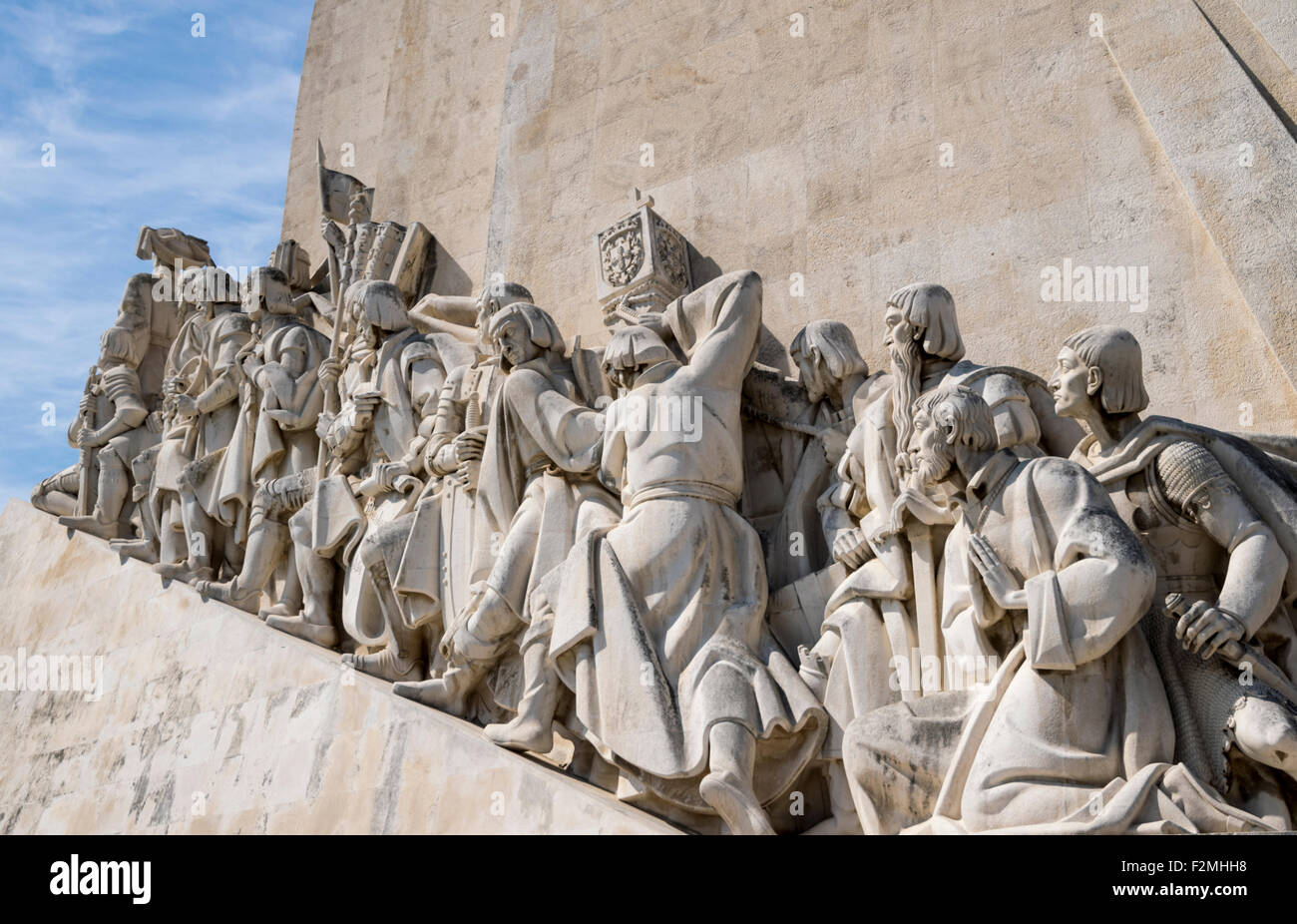 Discoveries Monument, Lisbon Portugal - Stock Image