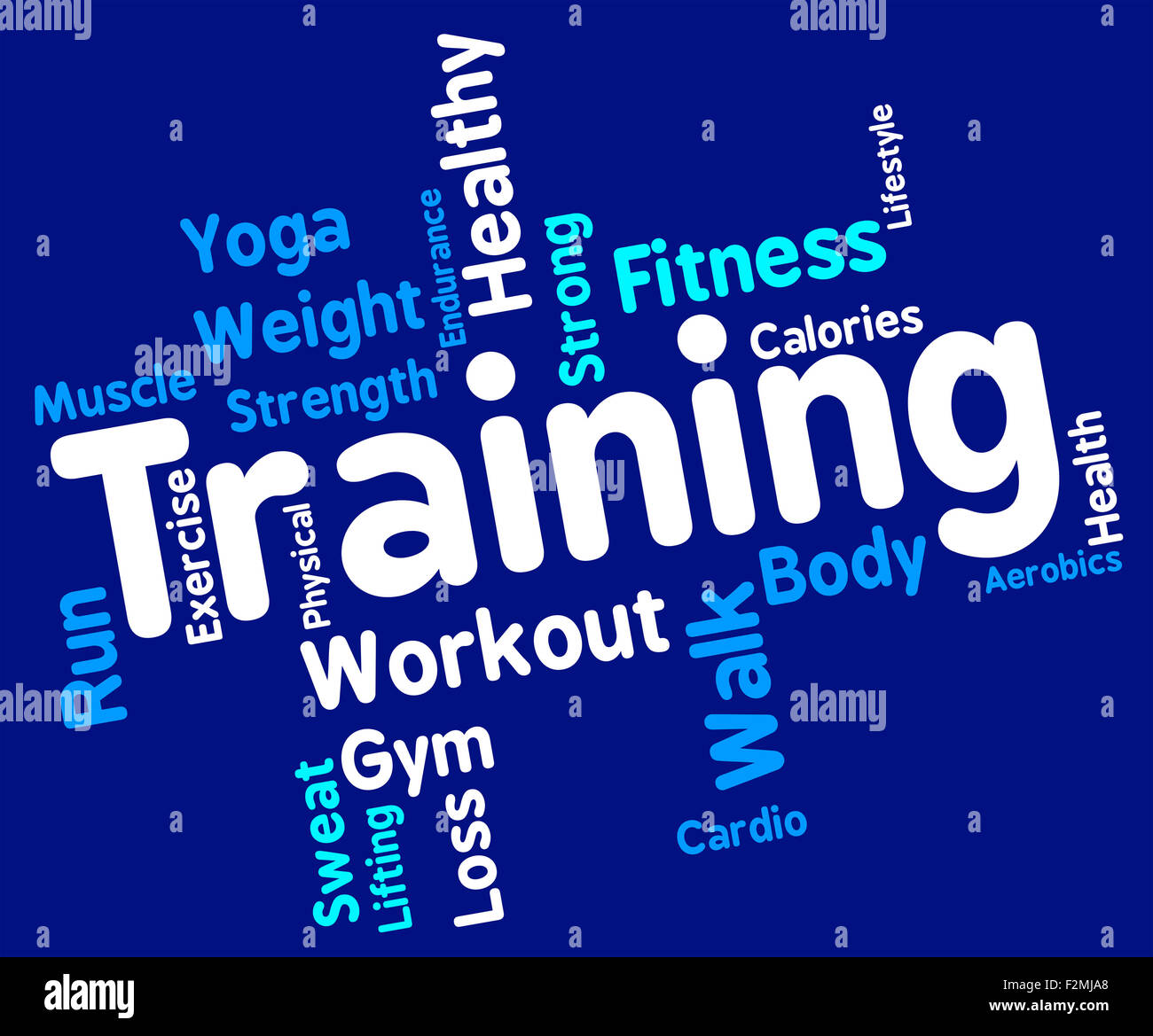 physical fitness words