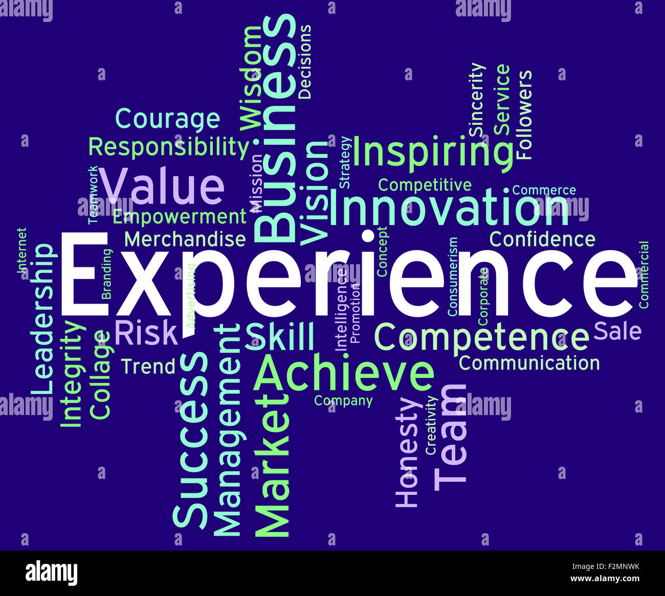 What is the experience word meaning 15
