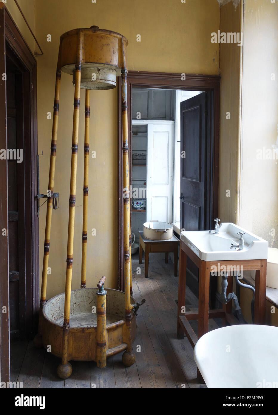 Exceptional Old Vintage Antique Victorian Or Edwardian Shower Bathroom Uk
