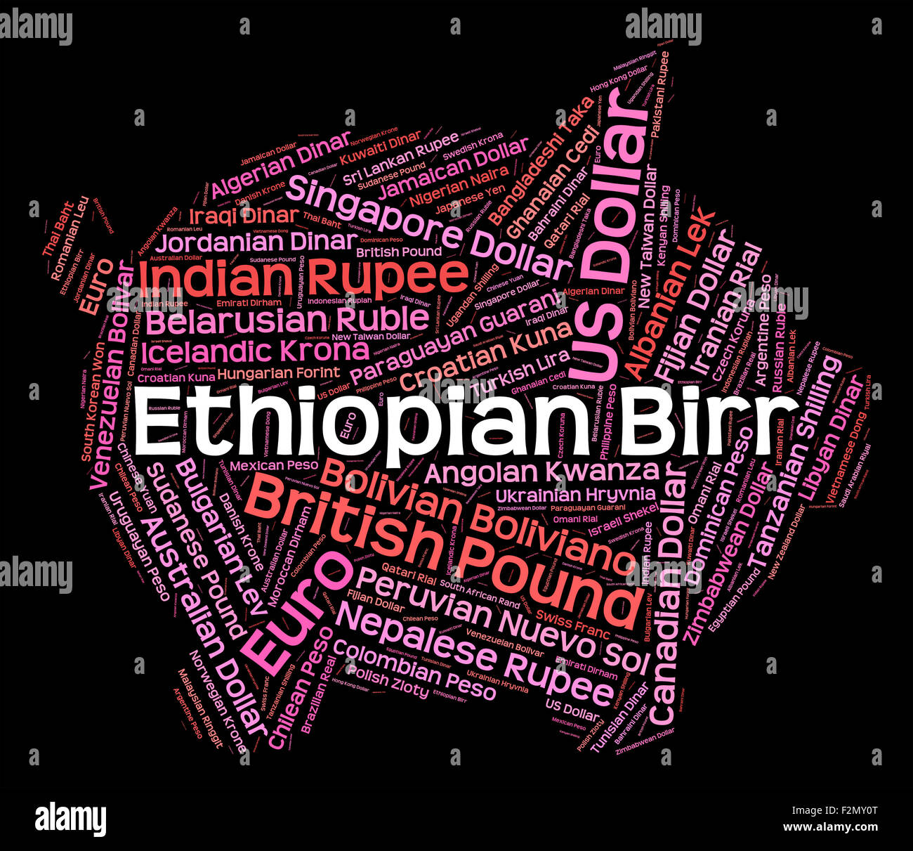 Ethiopian Birr Meaning Forex Trading And Etb Stock Photo