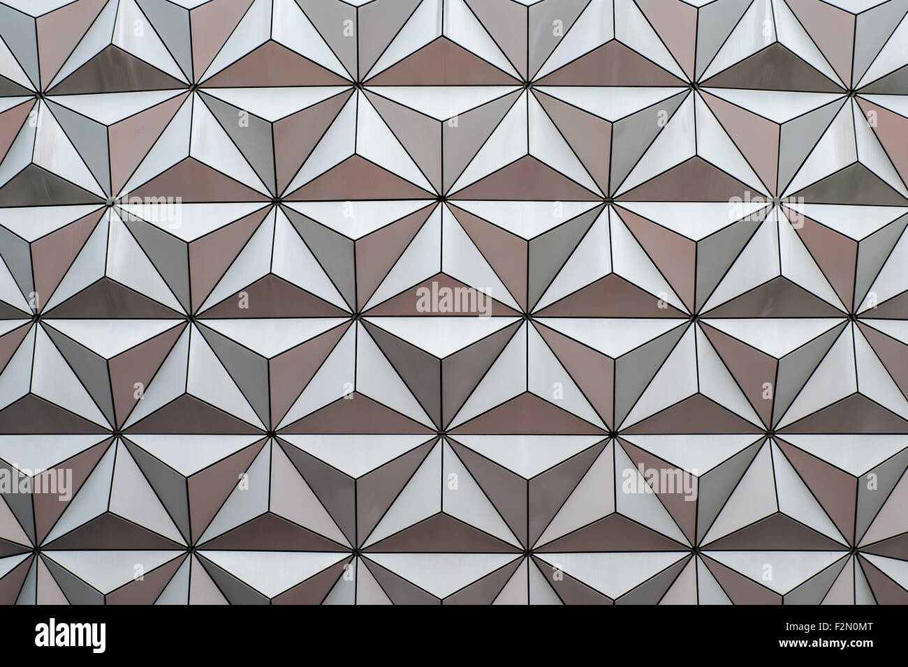 Abstract background made from triangles - Stock Image