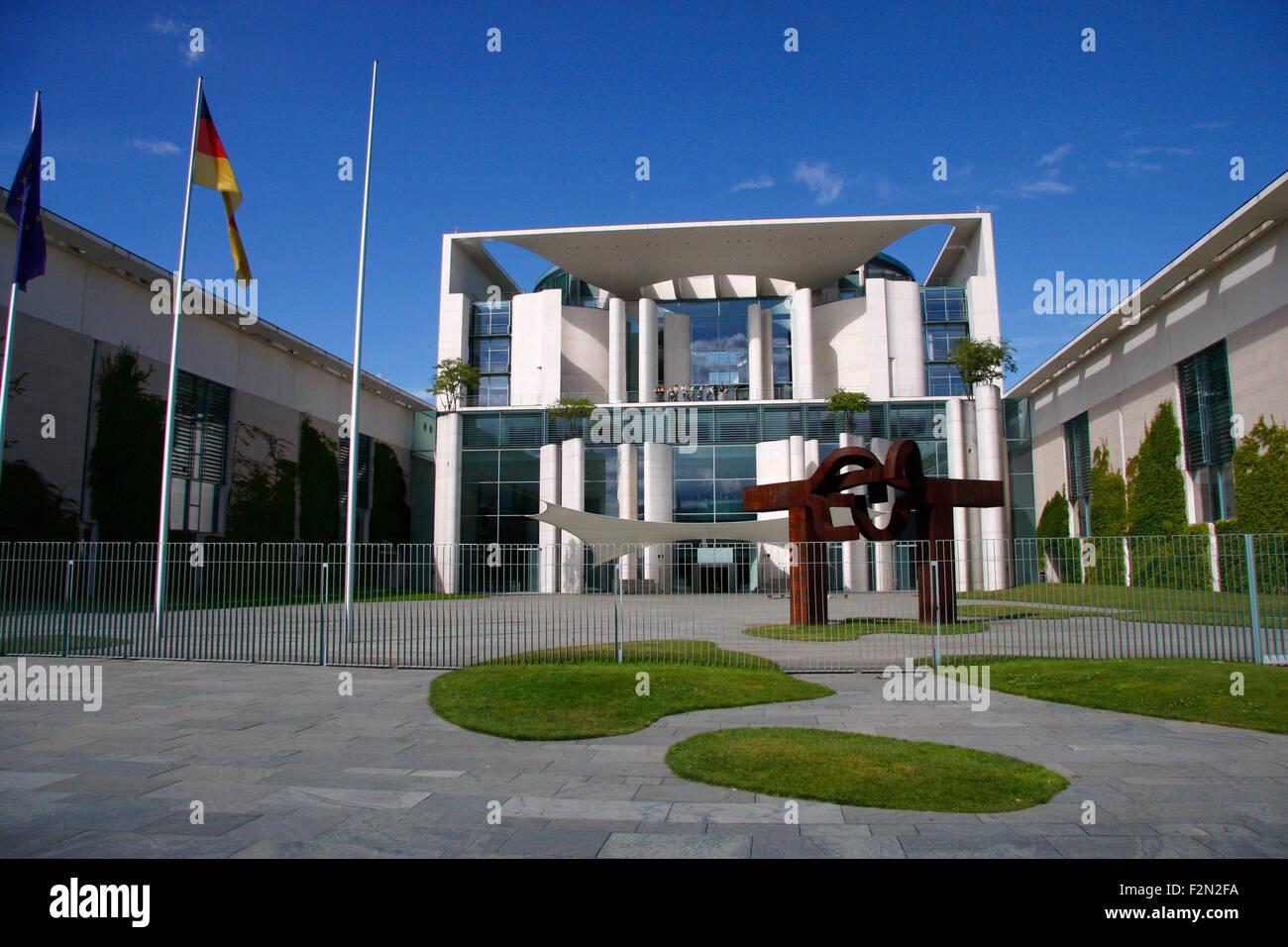 Bundeskanzleramt, Berlin. Stock Photo