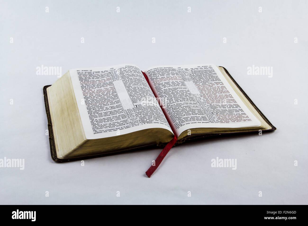 King James Bible Stock Photos & King James Bible Stock