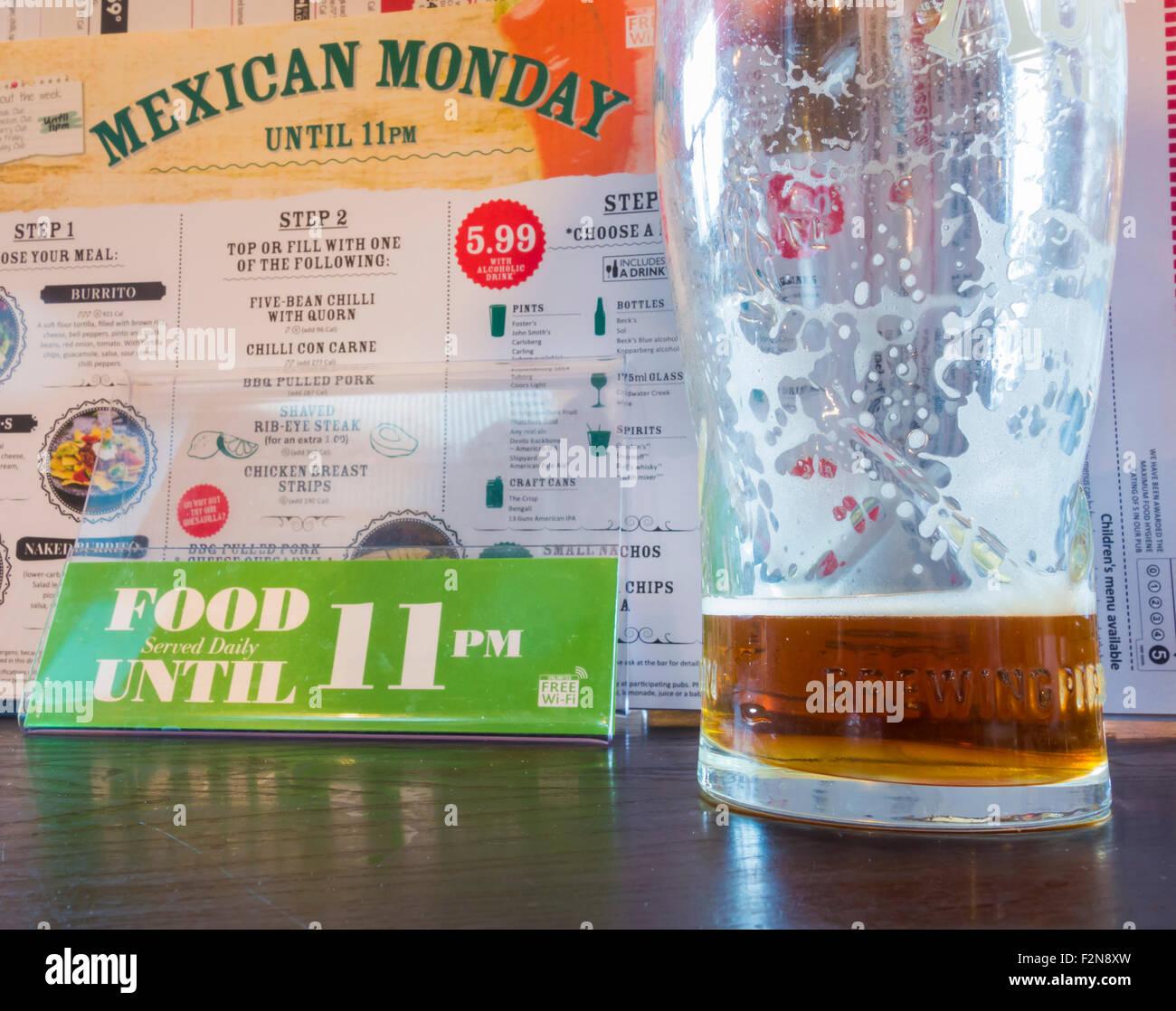 J D Wetherspoon pub, England, UK - Stock Image