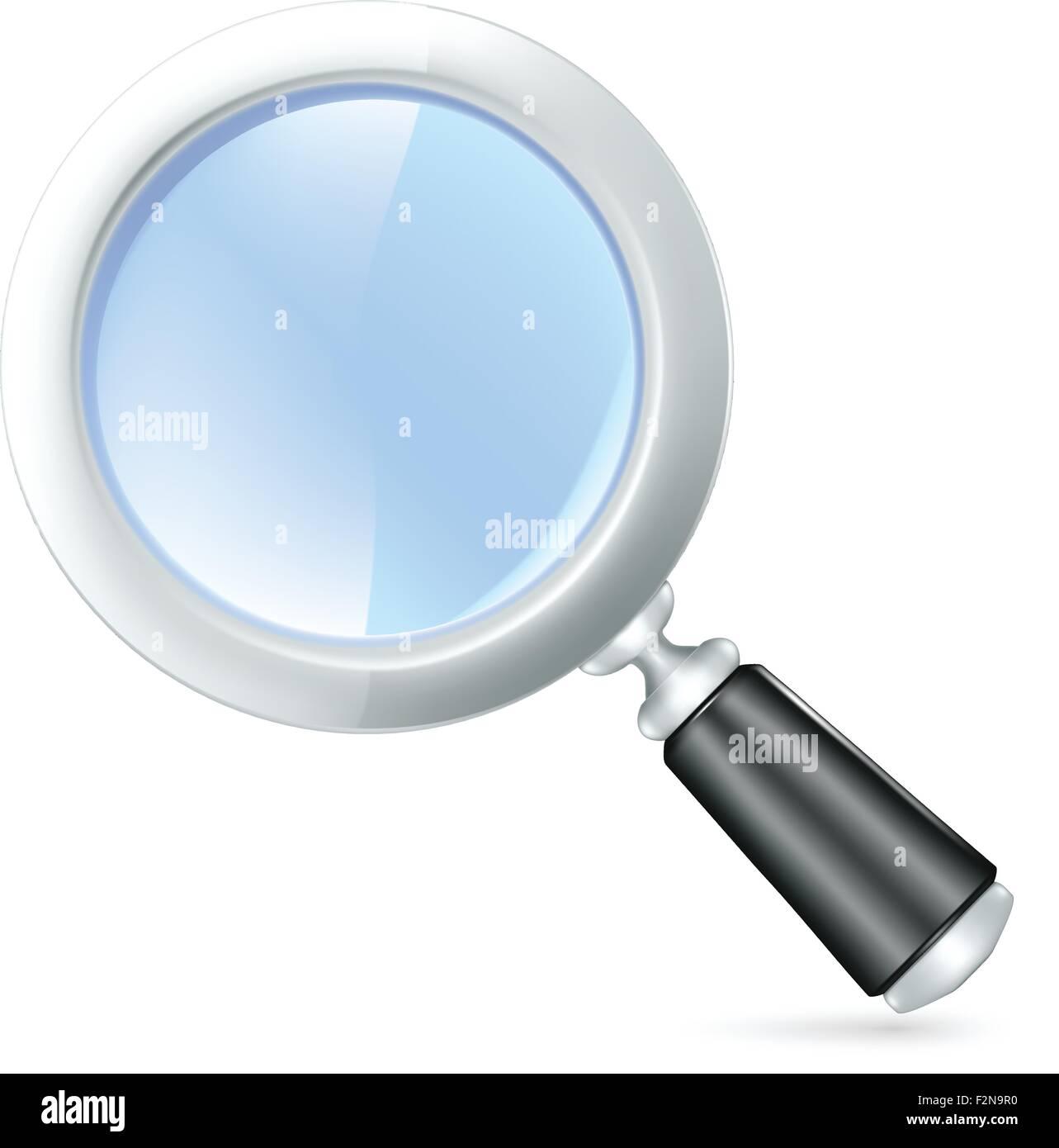 magnifying lens vector icon stock vector art illustration vector