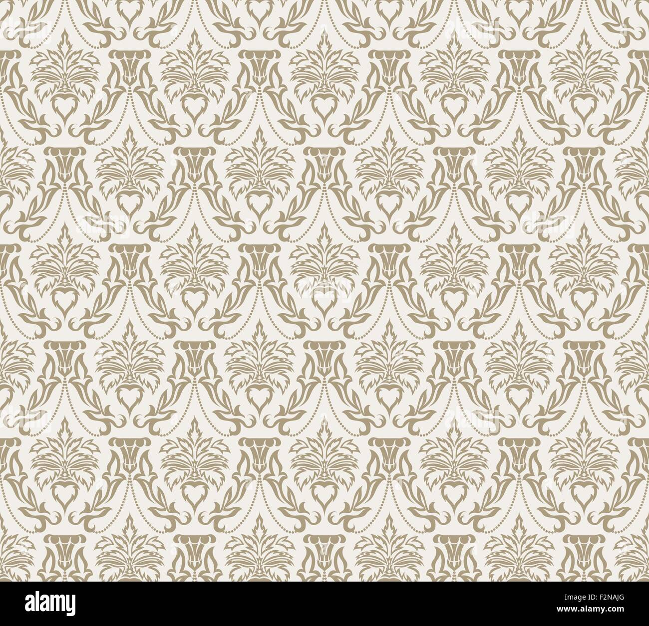 Elegant Design In Royal Baroque Style Background Texture Floral And Swirl Element Ideal For Textile Print WallpapersVector Illustration