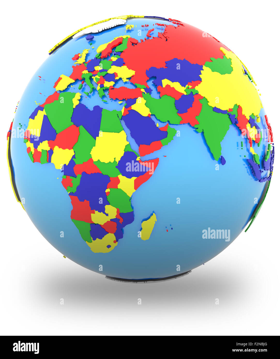 Map Of Earth Countries.Eastern Hemisphere Political Map Of The World With Countries In