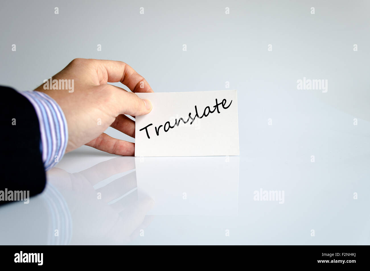 Translate Text Concept Isolated Over Stock Photos