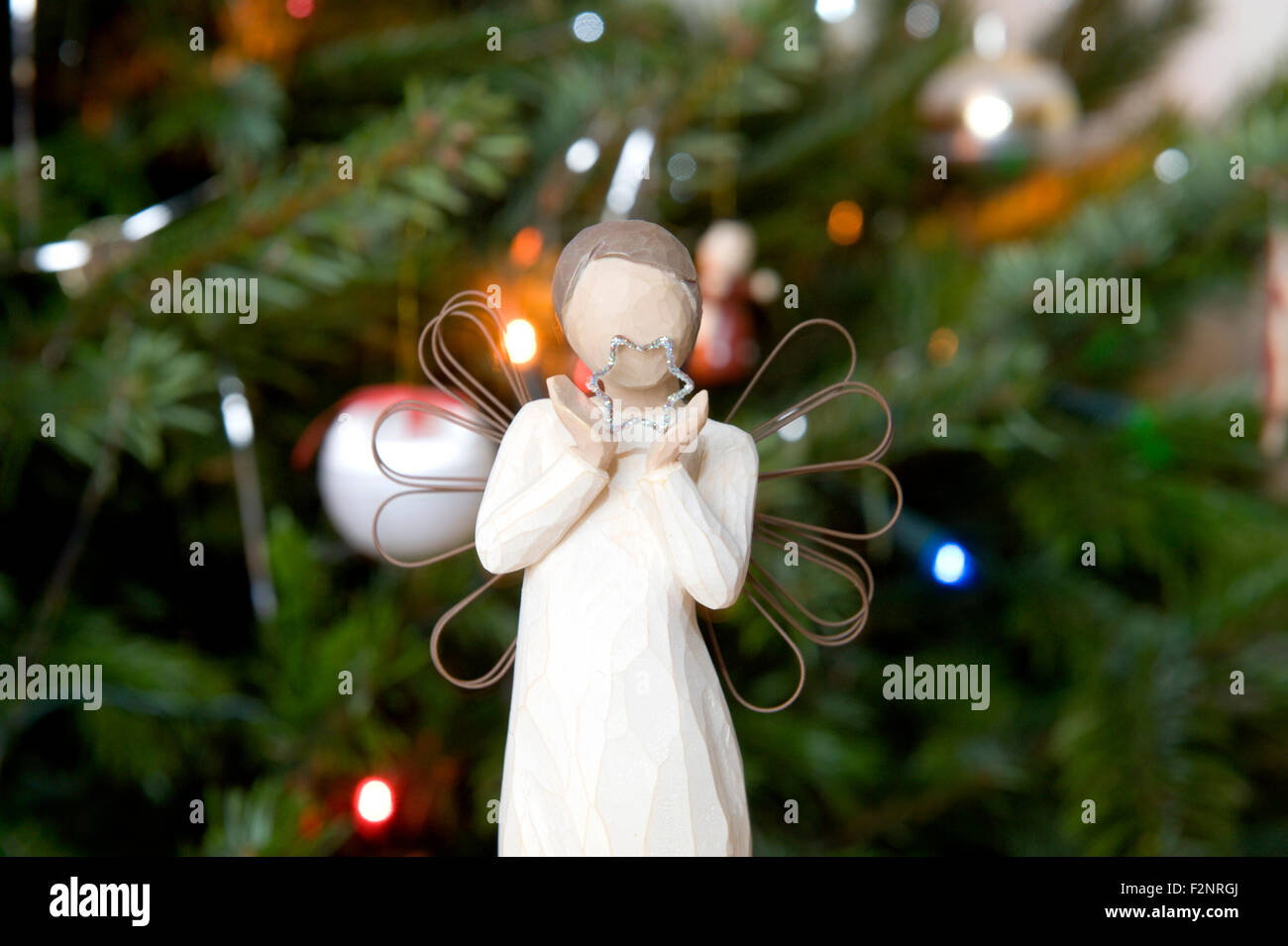 Angel Decorations High Resolution Stock Photography And Images Alamy