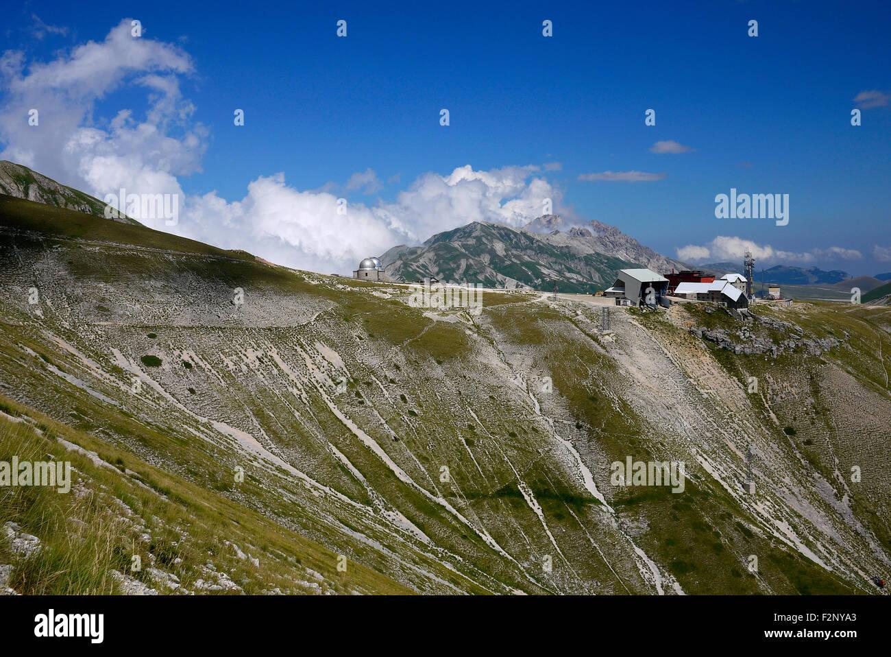 Campo Imperatore, Abruzzo, Italy. - Stock Image