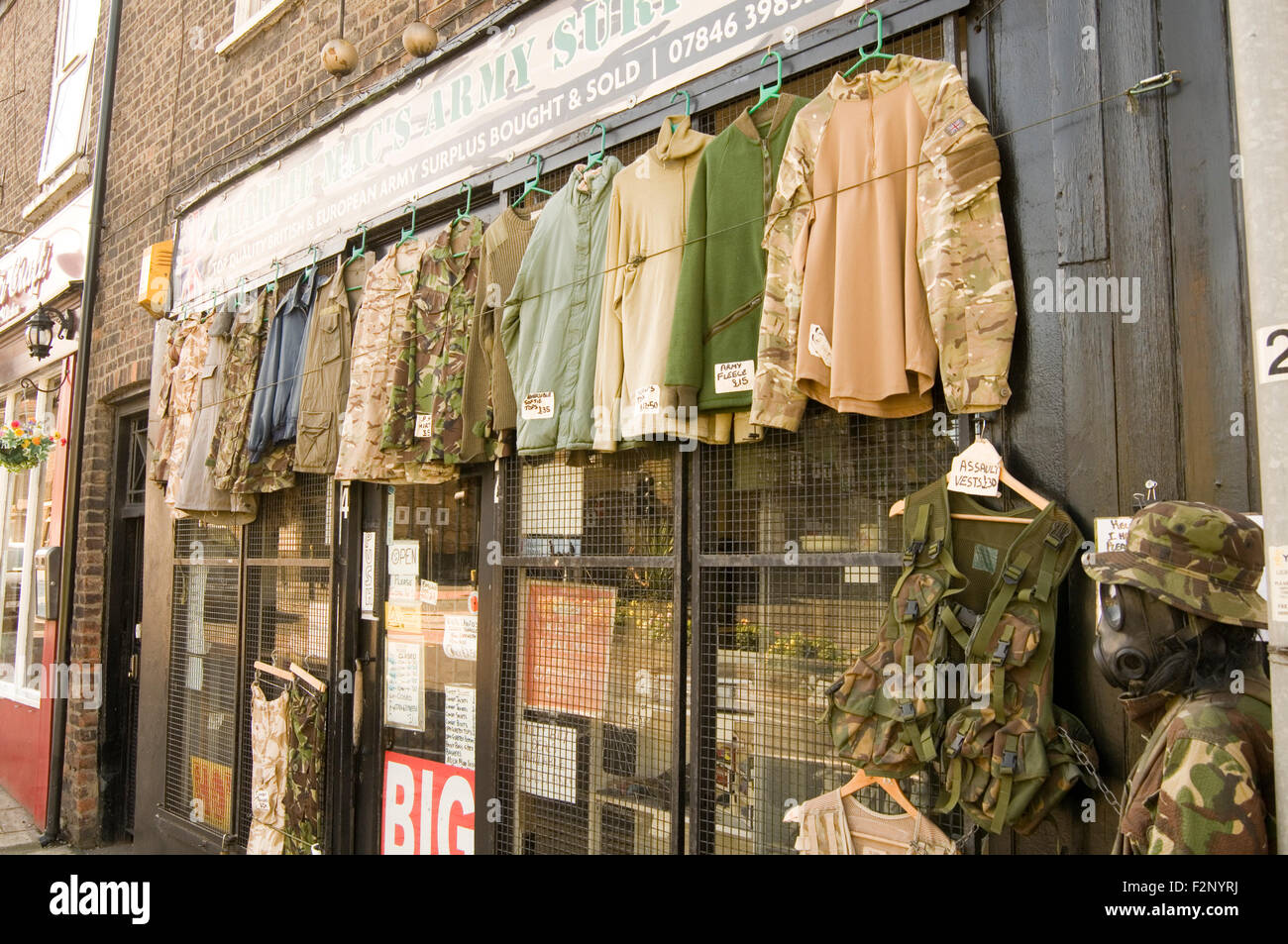 Military Surplus Clothes Uk