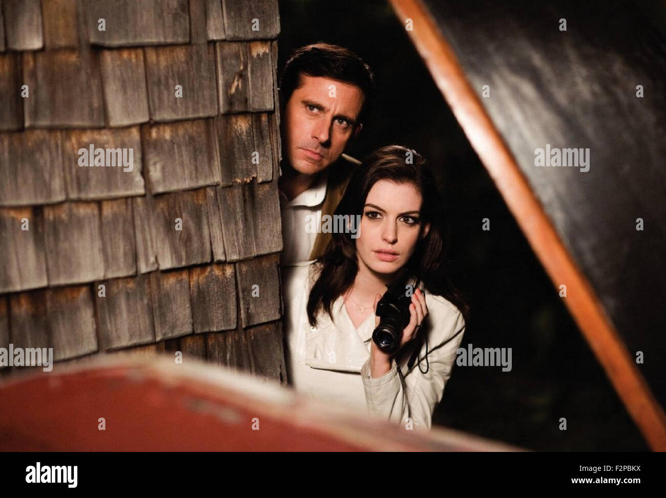 GET SMART 2008 Warner Home Entertainmnet film with Anne Hathaway and Steve Carell - Stock Image