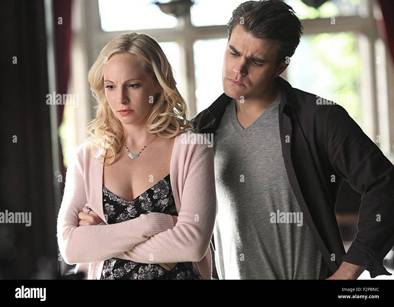 THE VAMPIRE DIARIES, THE DAY I TRIED TO LIVE  2009 CW production with Candice Accola and Paul Wesley - Stock Image