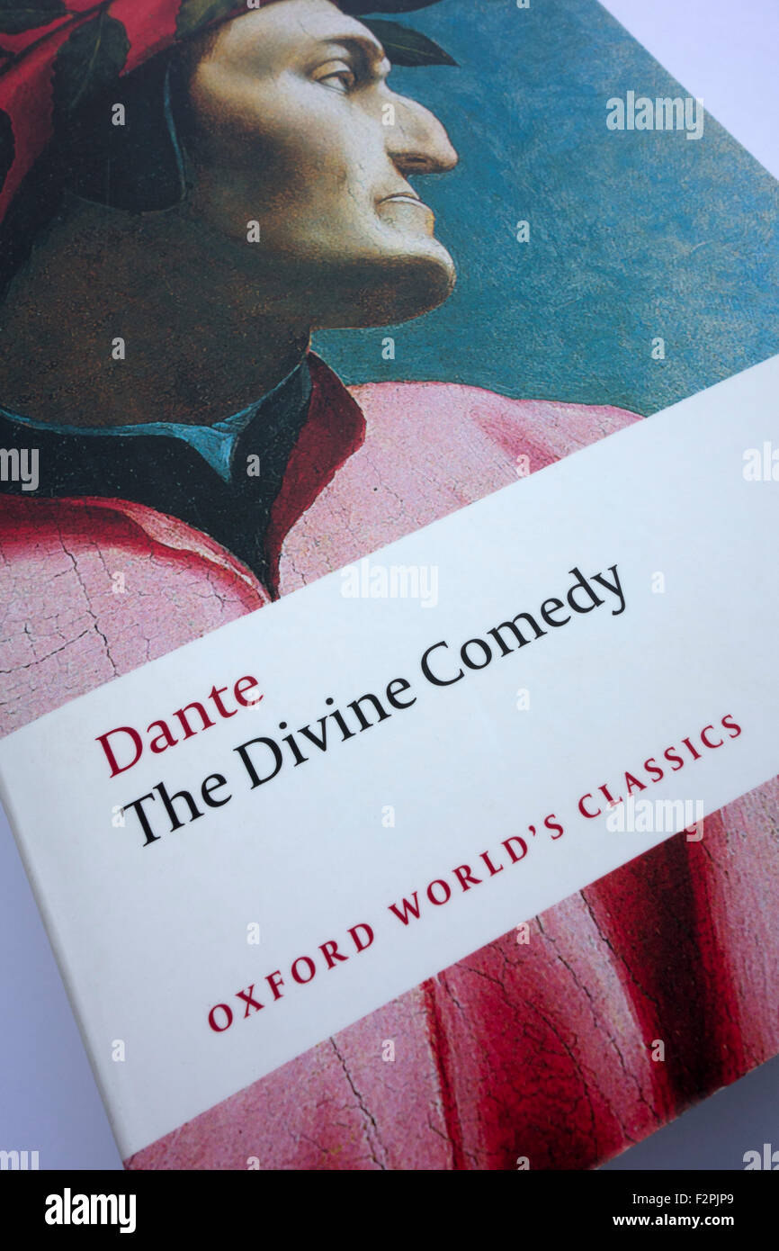 'The Divine Comedy' by Dante - Stock Image