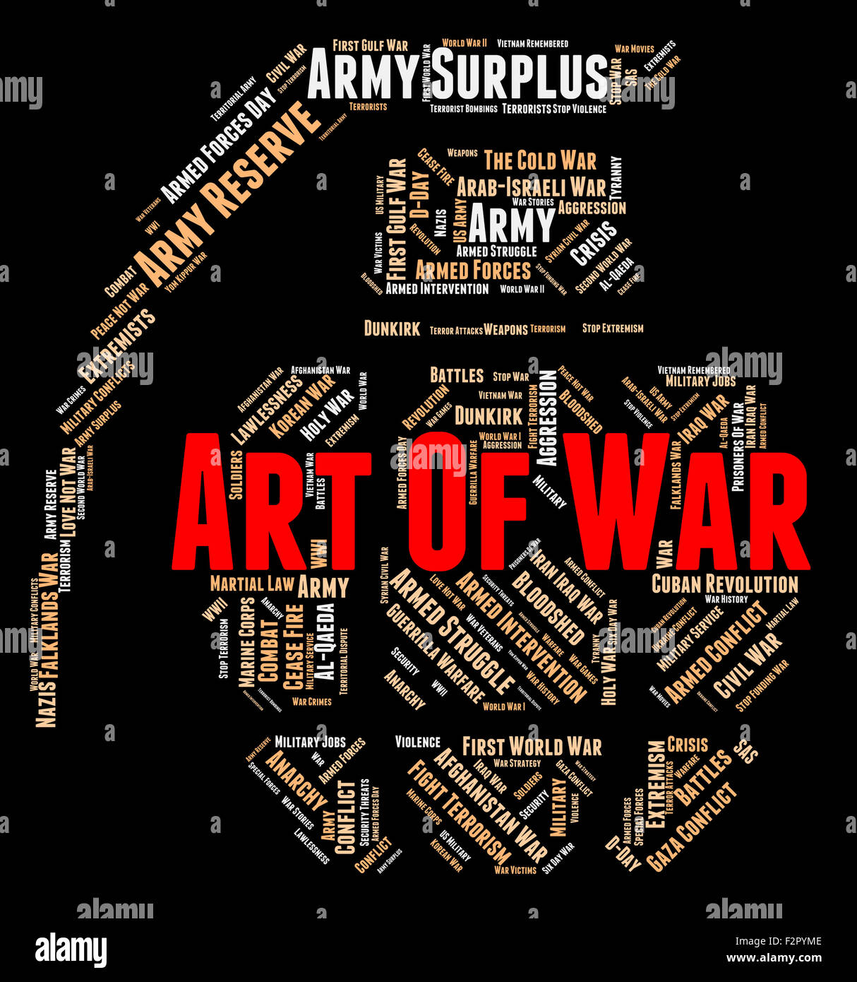 Art Of War Indicating Business Strategy And Planning Stock Photo Alamy