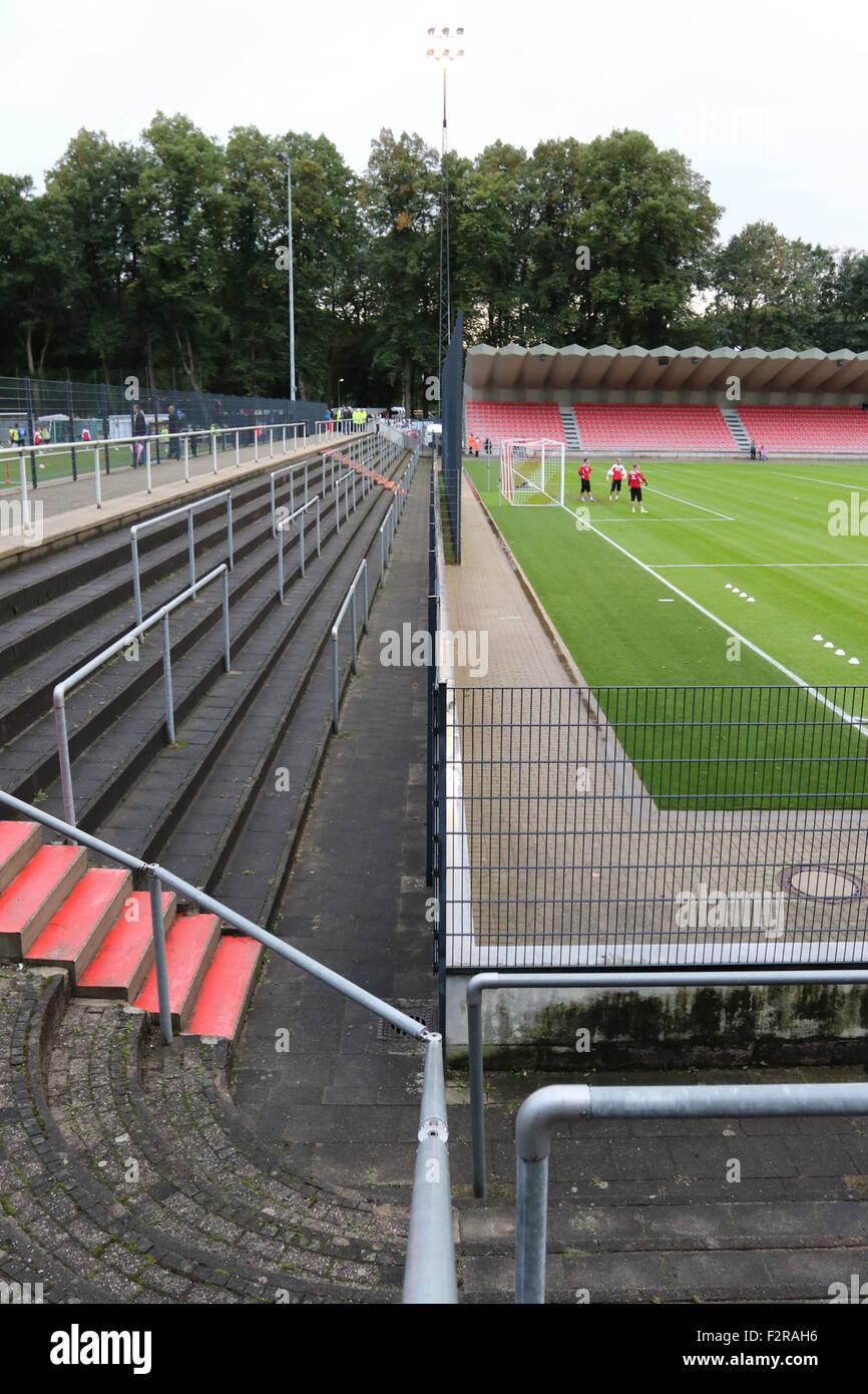 Franz Kremer Stadion. 22nd September 2015, Franz-Kremer-Allee, Köln . FC Köln v Rot-Weiß Oberhausen. - Stock Image
