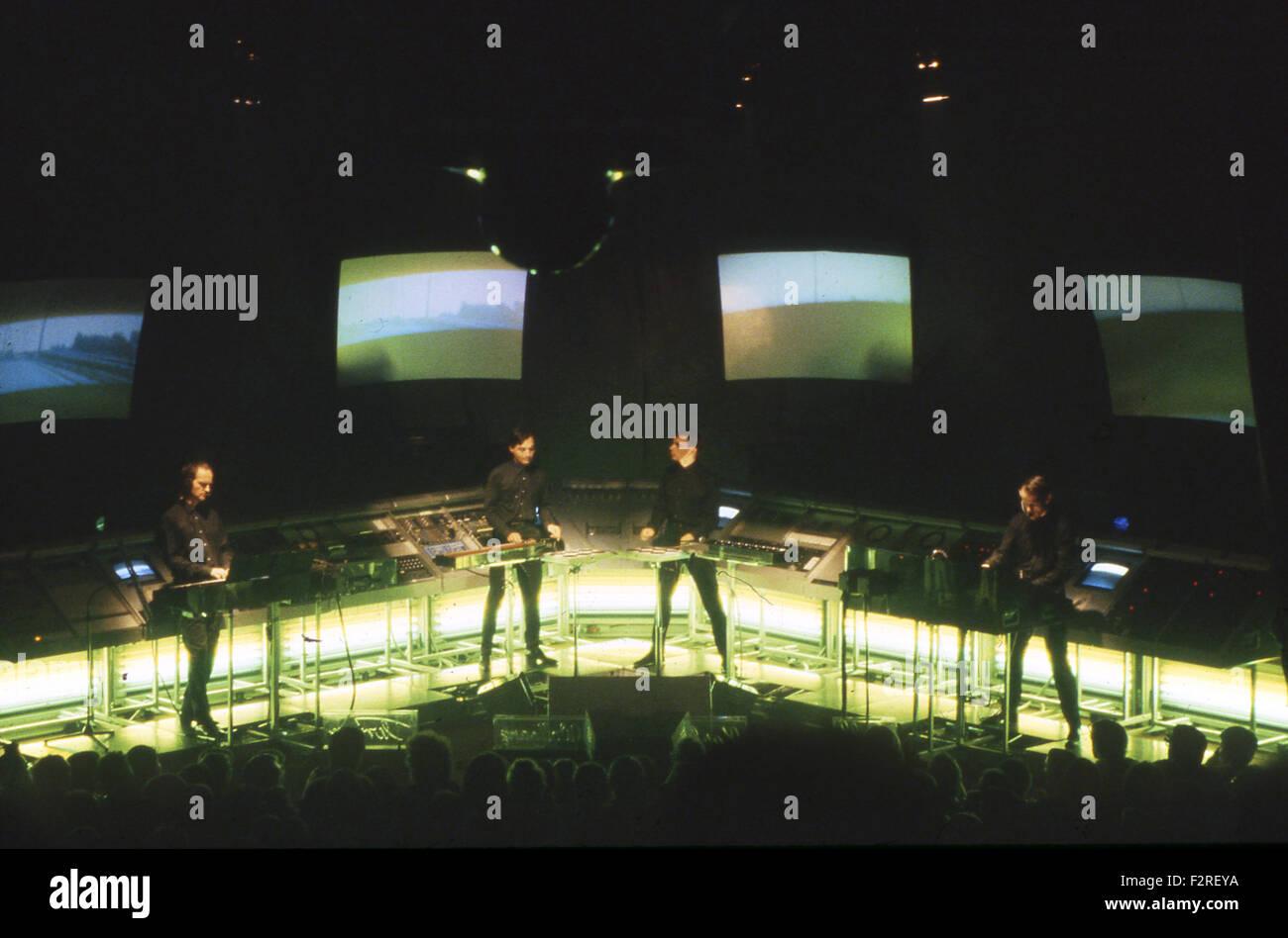 KRAFTWERK German rock group in 2004 Stock Photo