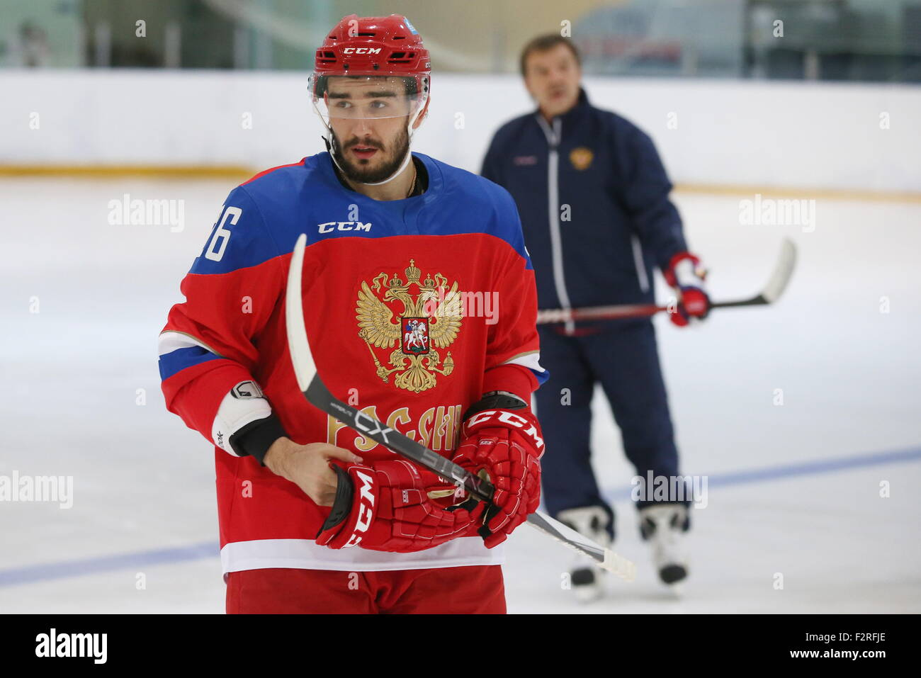 Russian hockey player