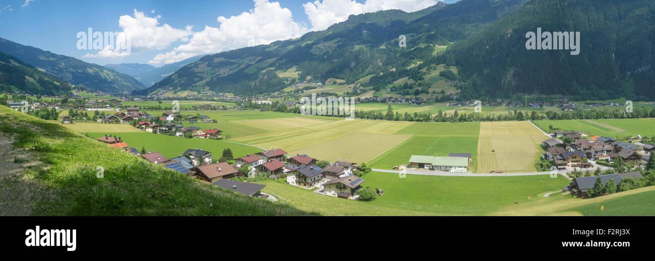 Zillertal valley, Tyrol, Austria Stock Photo