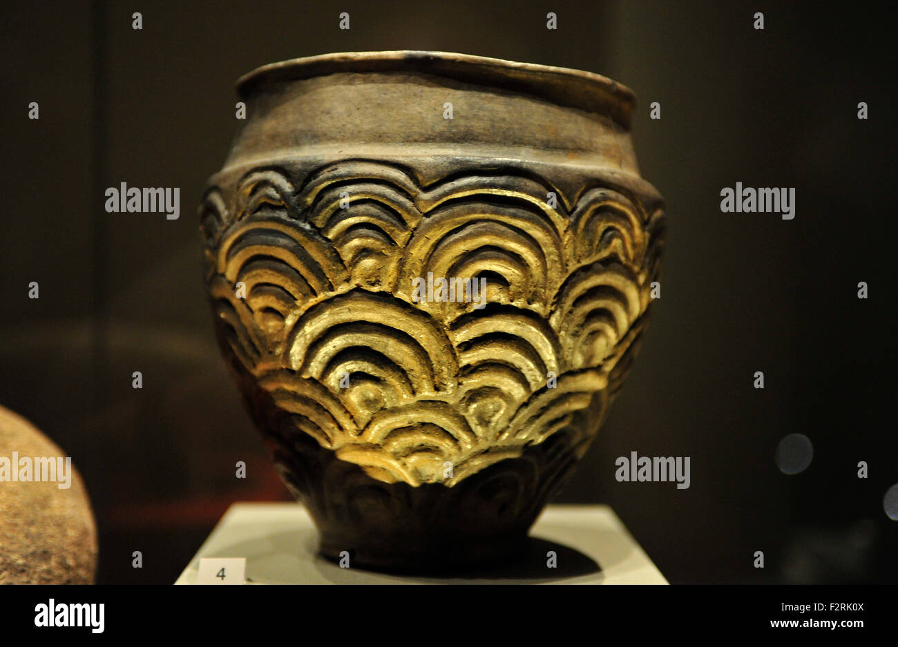 British Museum, London, UK. 23rd September, 2015. Organised with National Museums Scotland, Celts: art and identity - Stock Image