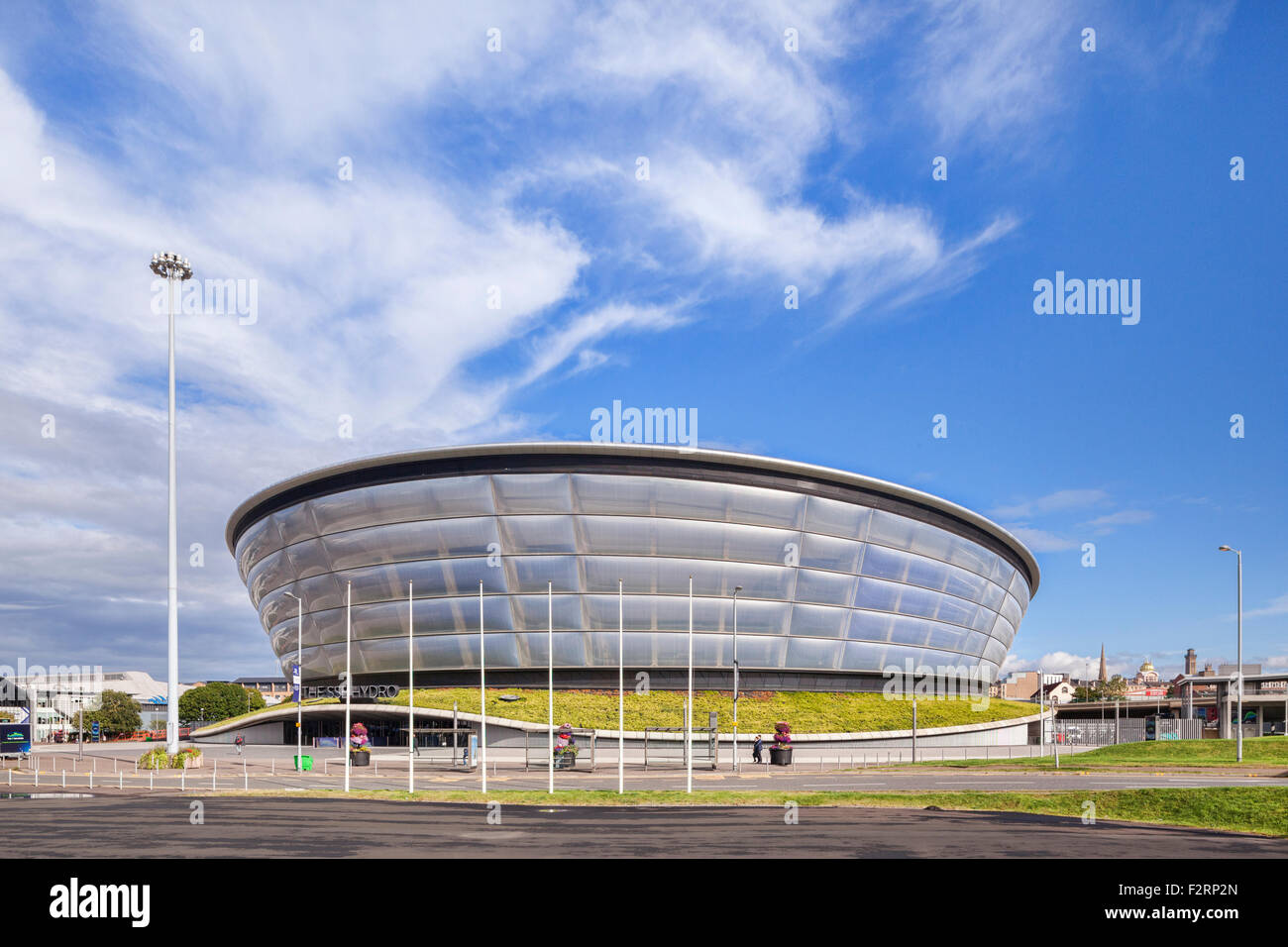 The SSE Hydro Arena, a 13,000 seat performance venue, located next to the Scottish Exhibition and Conference Centre - Stock Image