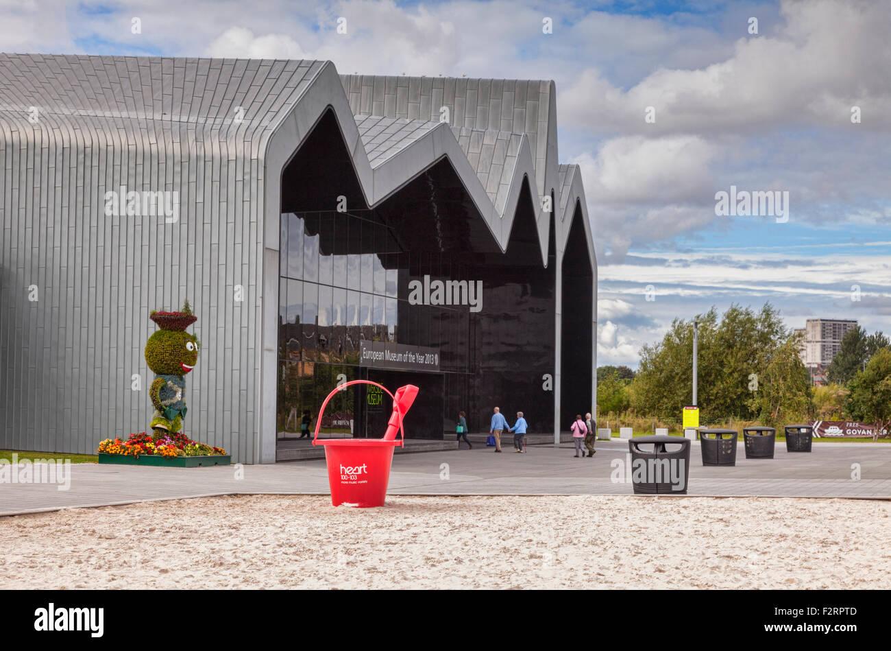 Riverside Museum, Glasgow, Scotland, UK. - Stock Image