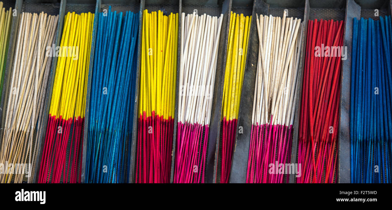 incense sticks - Stock Image