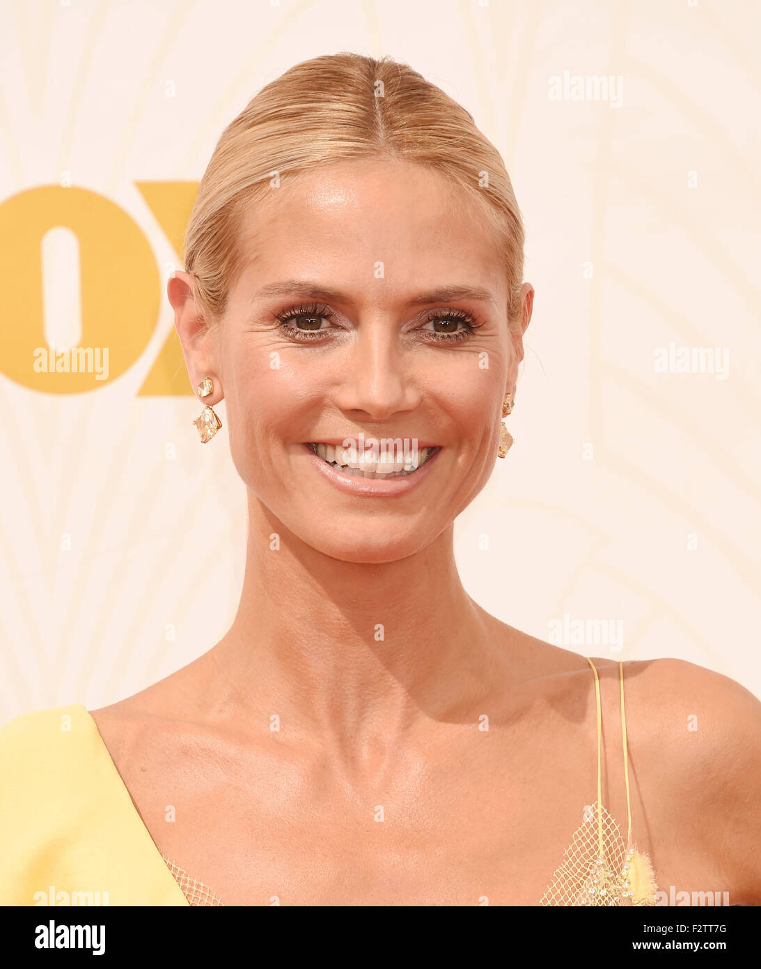HEIDI KLUM  US TV personality  in September 20156. Photo Jeffrey Mayer - Stock Image