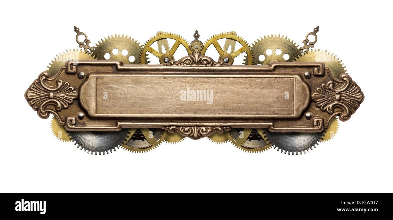 Steampunk Banner Stock Photos Steampunk Banner Stock Images Alamy