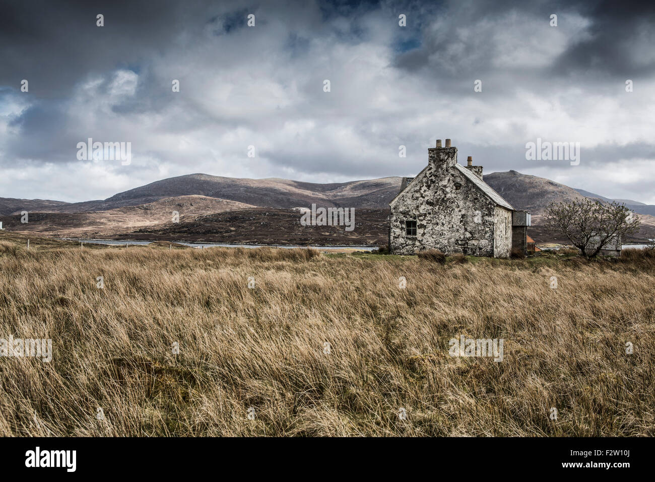 Croft , Isle of Lewis ,The Outer Hebrides , Scotland , UK - Stock Image