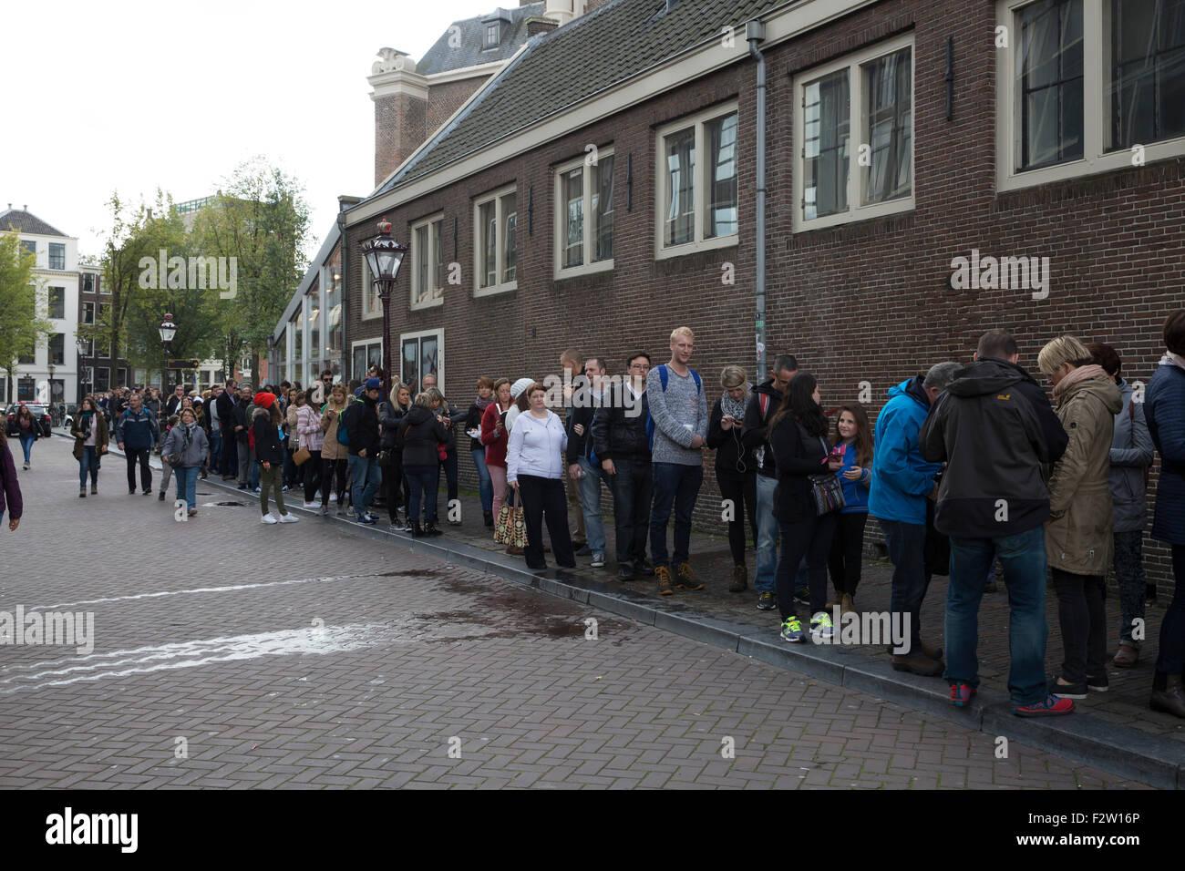 anne frank house queue