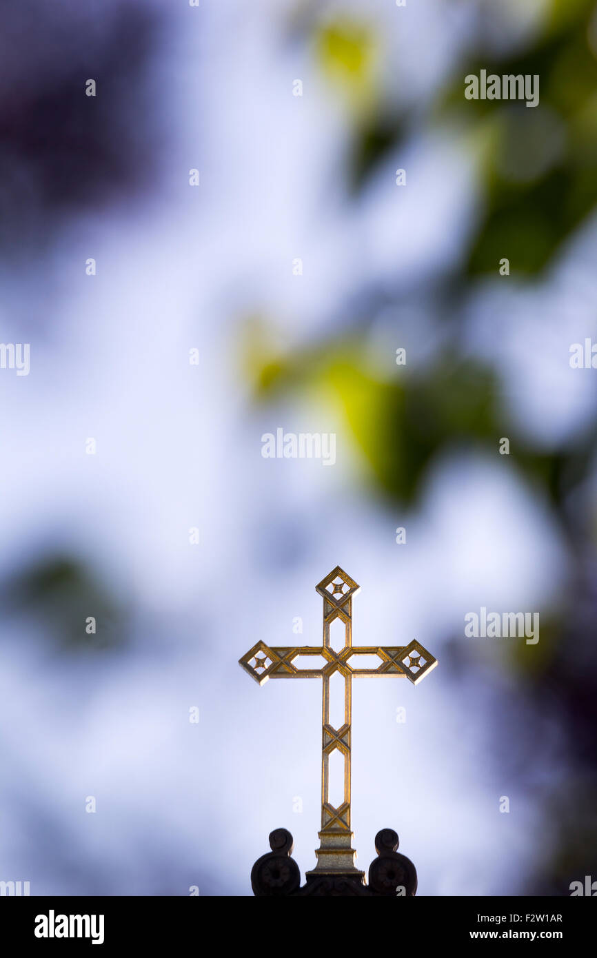 A German Cross In Gold Stock Photos & A German Cross In Gold Stock